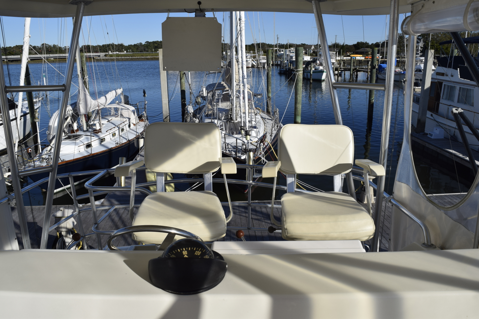Ocean Yachts-SS 1990-Reel Music Beaufort-North Carolina-United States-1556903   Thumbnail