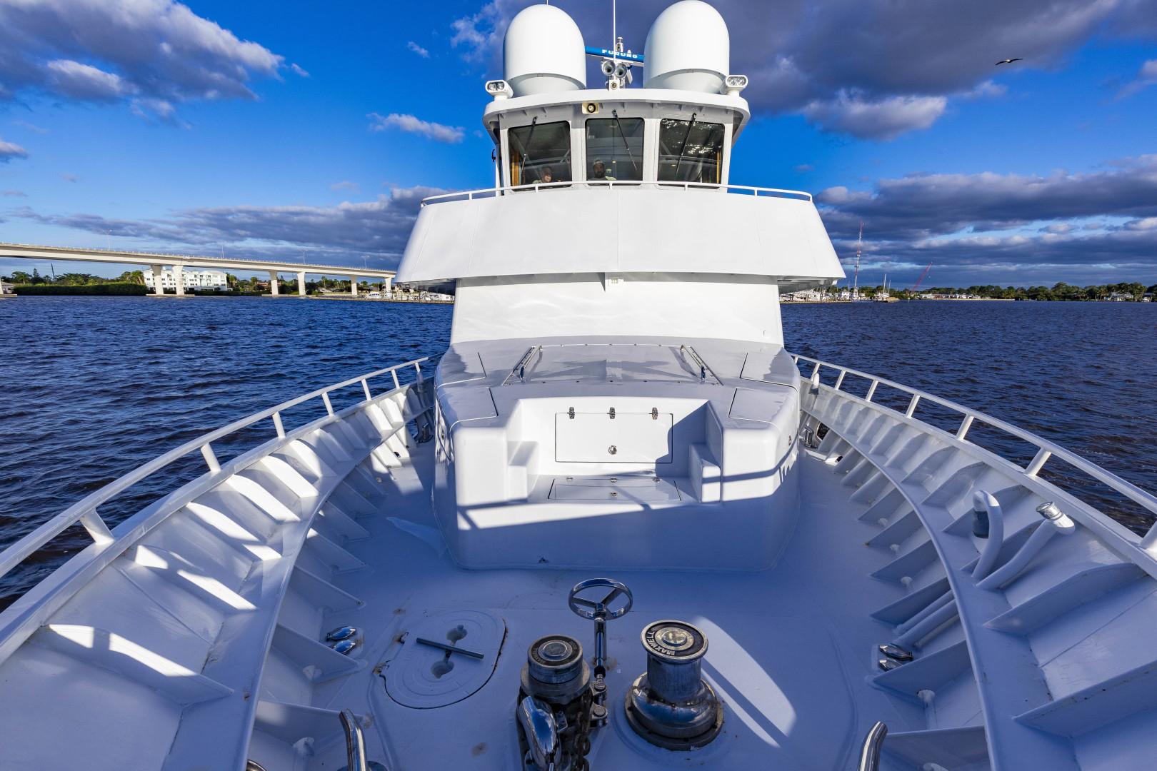 GlassTech-Expedition Yacht 2018-Reset Stuart-Florida-United States-Foredeck-1568547 | Thumbnail