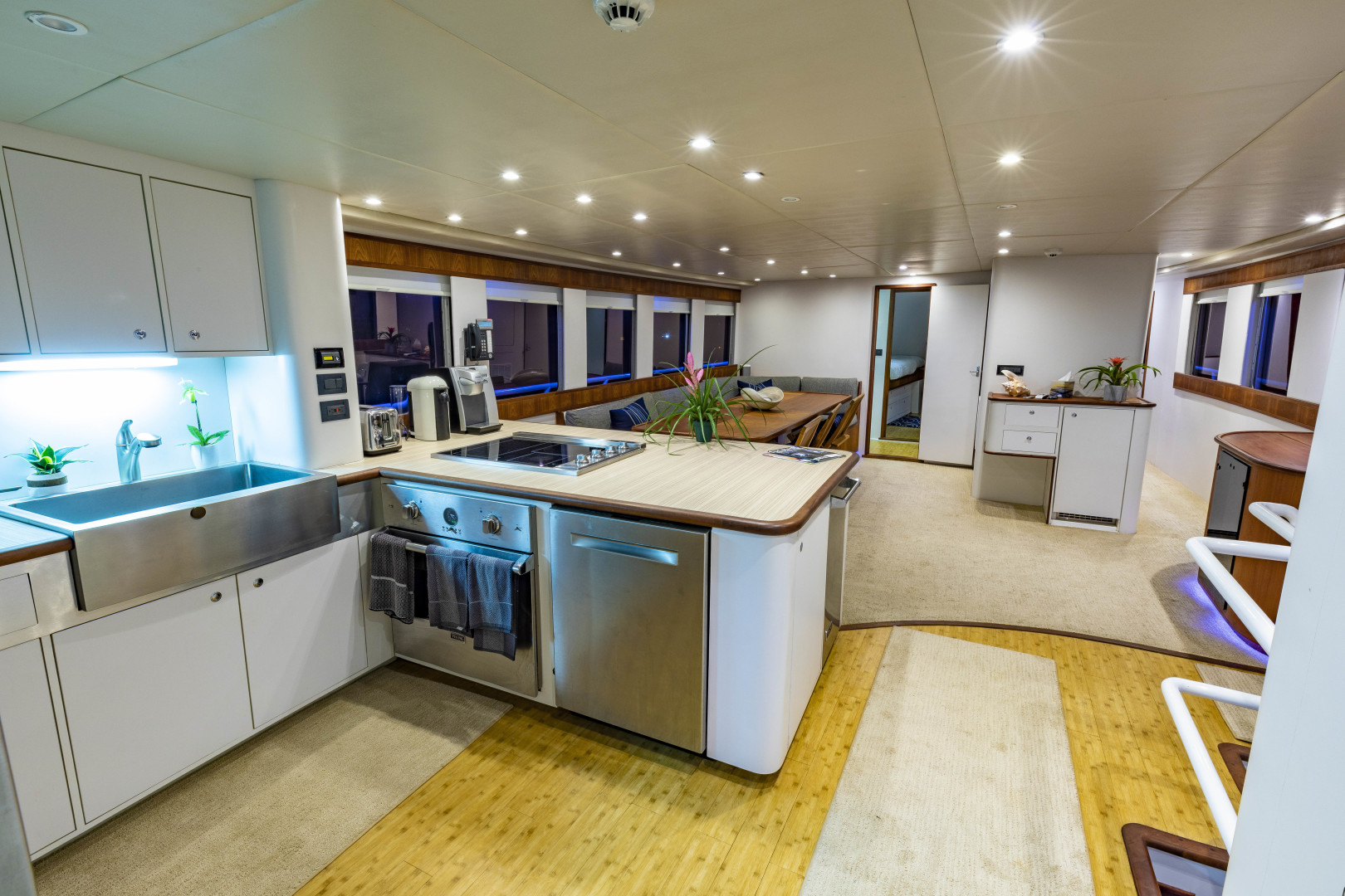 GlassTech-Expedition Yacht 2018-Reset Stuart-Florida-United States-Galley-1568673 | Thumbnail