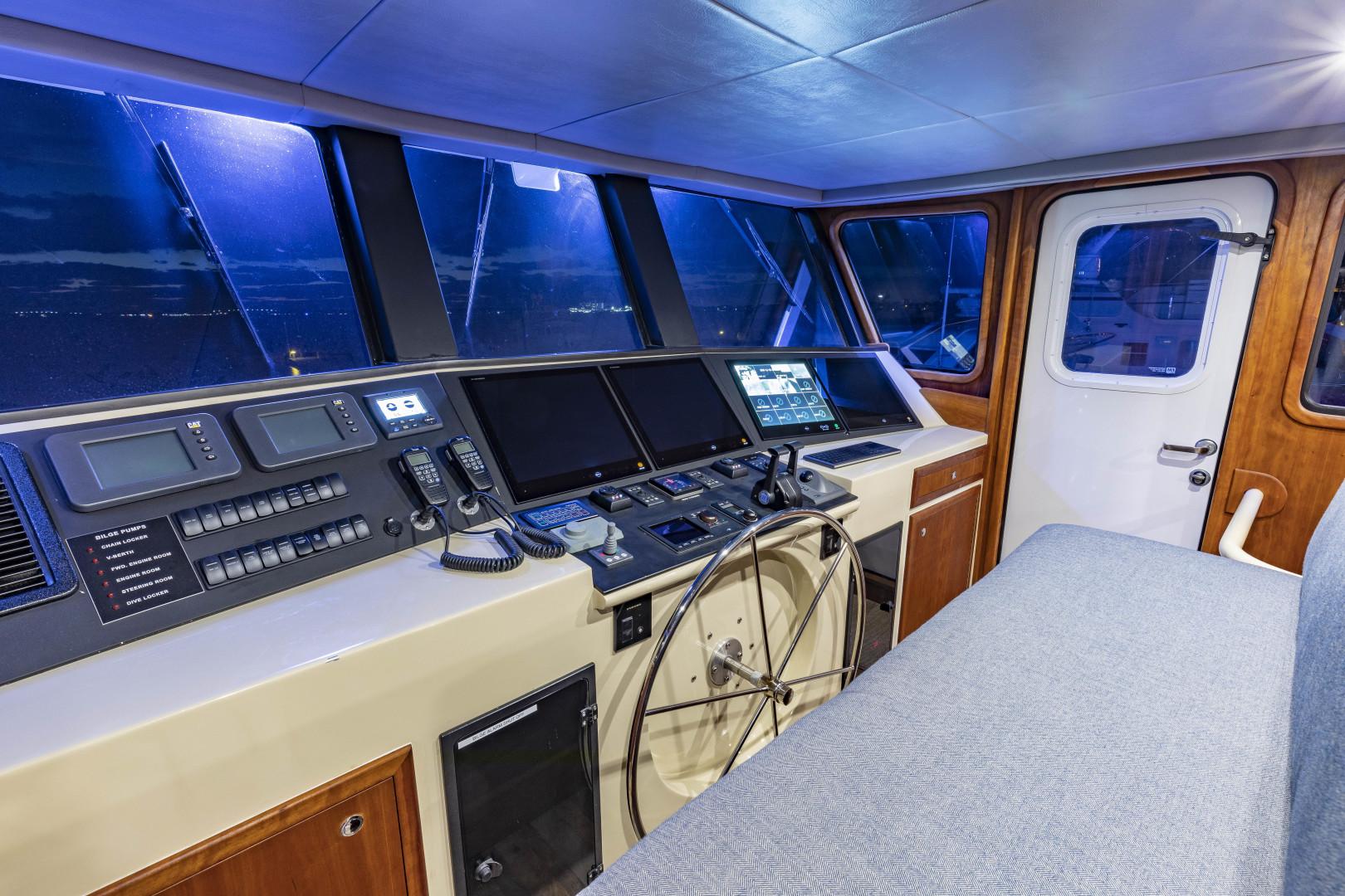 GlassTech-Expedition Yacht 2018-Reset Stuart-Florida-United States-Helm-1568669 | Thumbnail