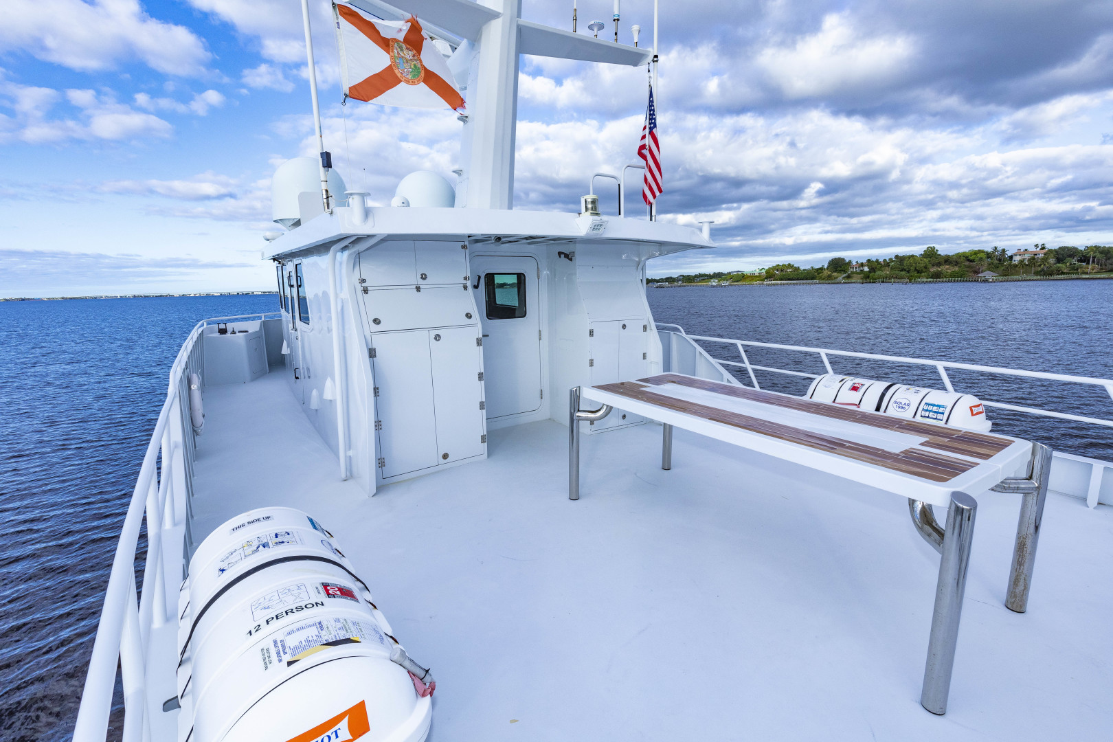 GlassTech-Expedition Yacht 2018-Reset Stuart-Florida-United States-Aft Deck-1568552 | Thumbnail