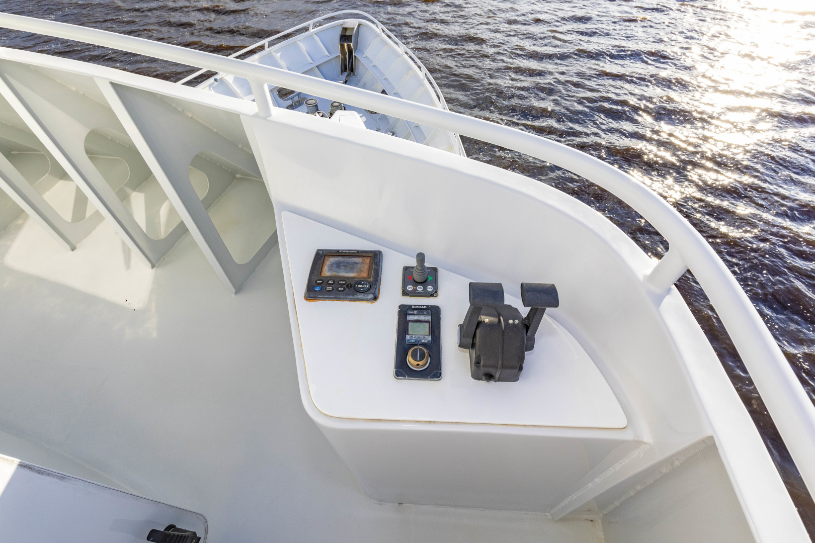 GlassTech-Expedition Yacht 2018-Reset Stuart-Florida-United States-Stbd Wing Controls-1568642 | Thumbnail