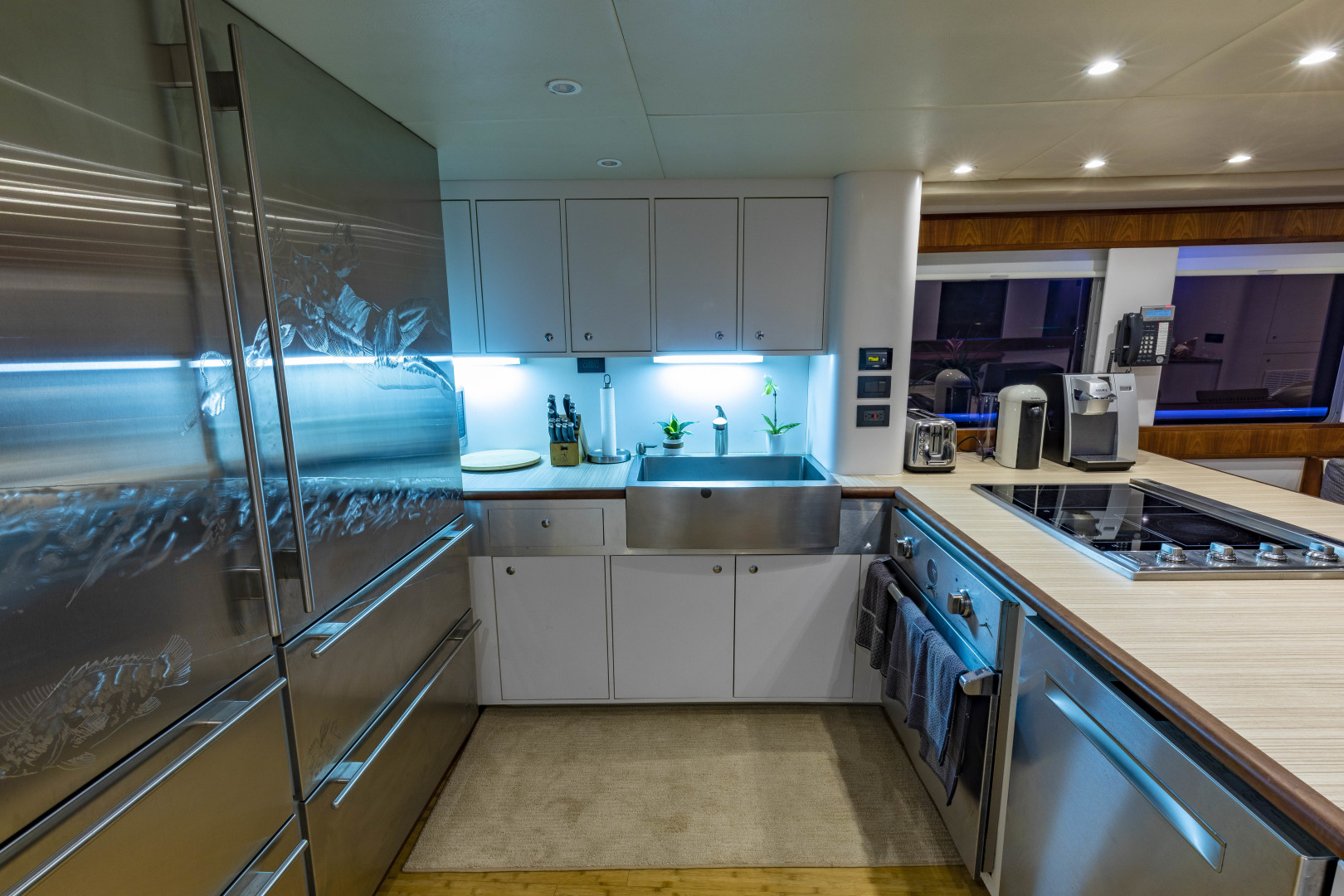 GlassTech-Expedition Yacht 2018-Reset Stuart-Florida-United States-Galley-1568671 | Thumbnail