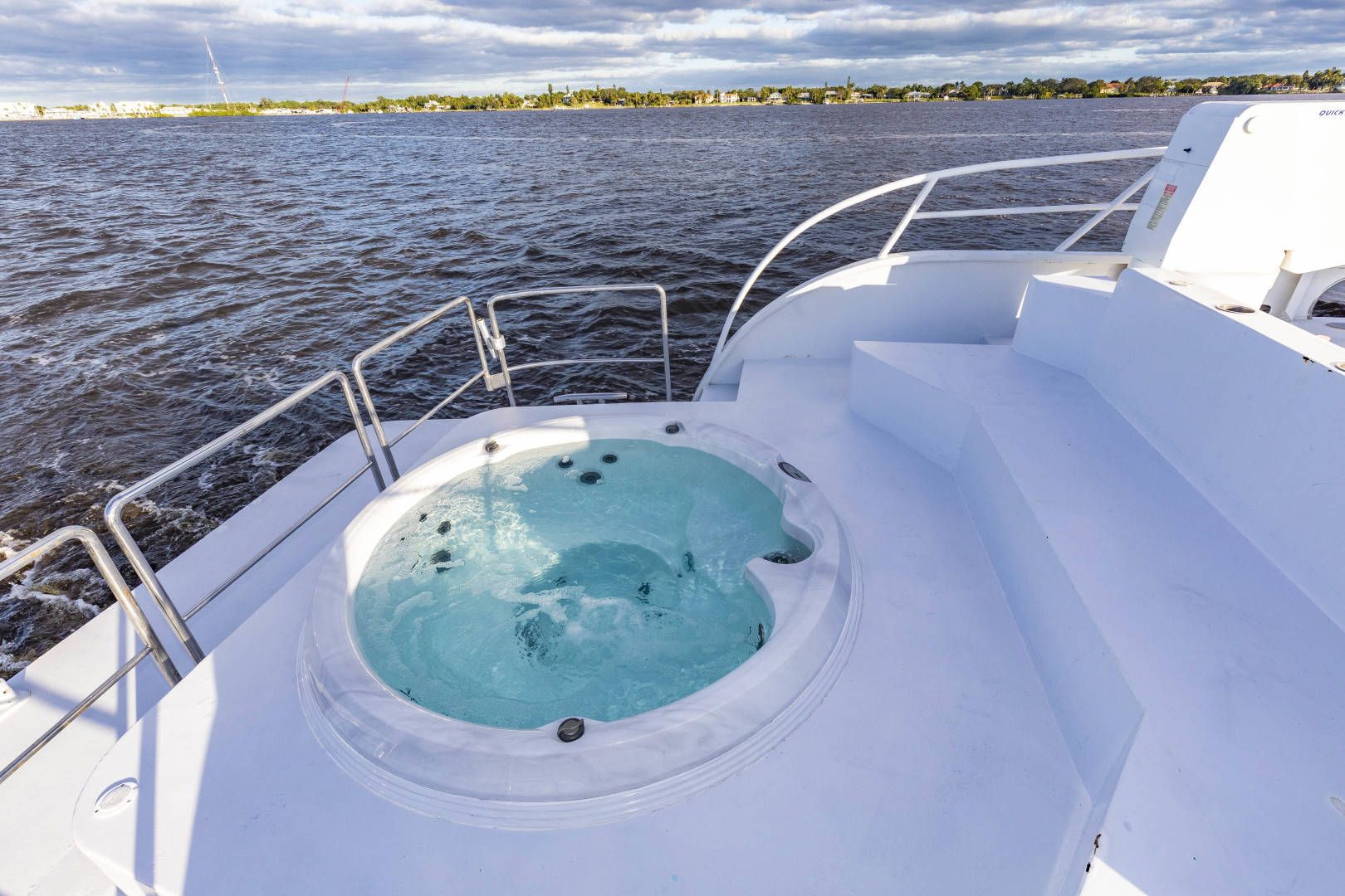 GlassTech-Expedition Yacht 2018-Reset Stuart-Florida-United States-Hot Tub-1568567 | Thumbnail