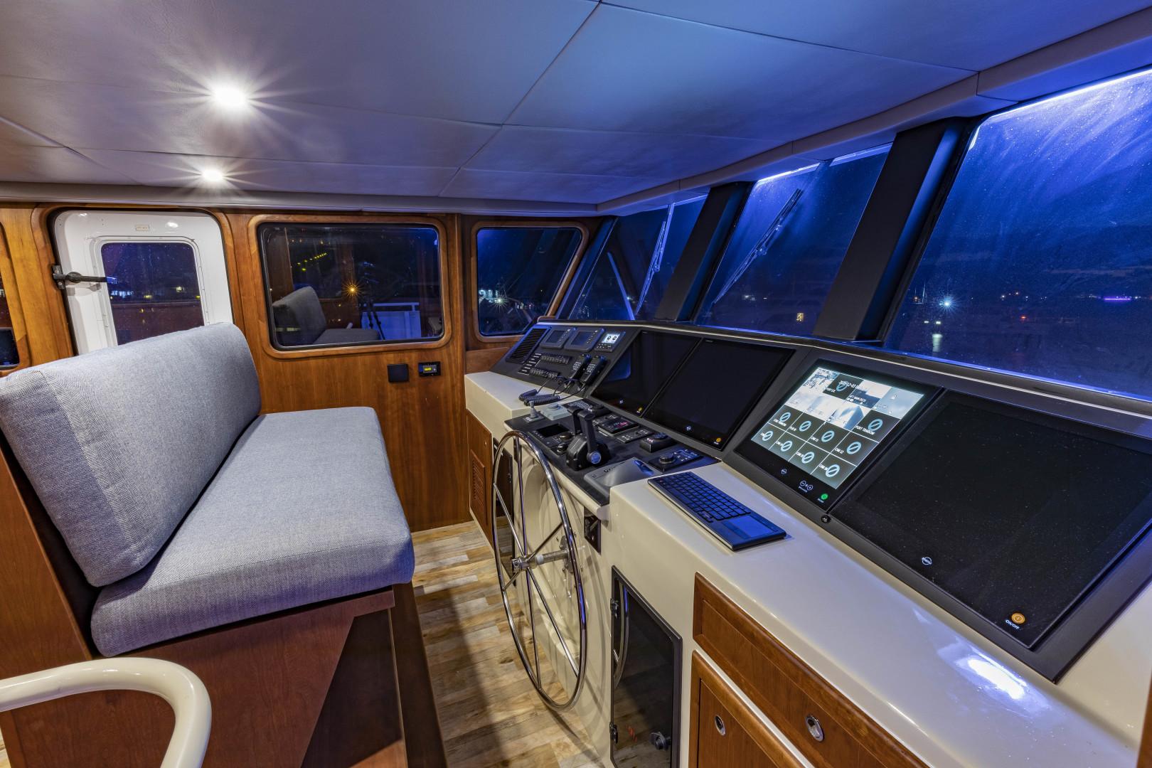 GlassTech-Expedition Yacht 2018-Reset Stuart-Florida-United States-Pilothouse-1568664 | Thumbnail