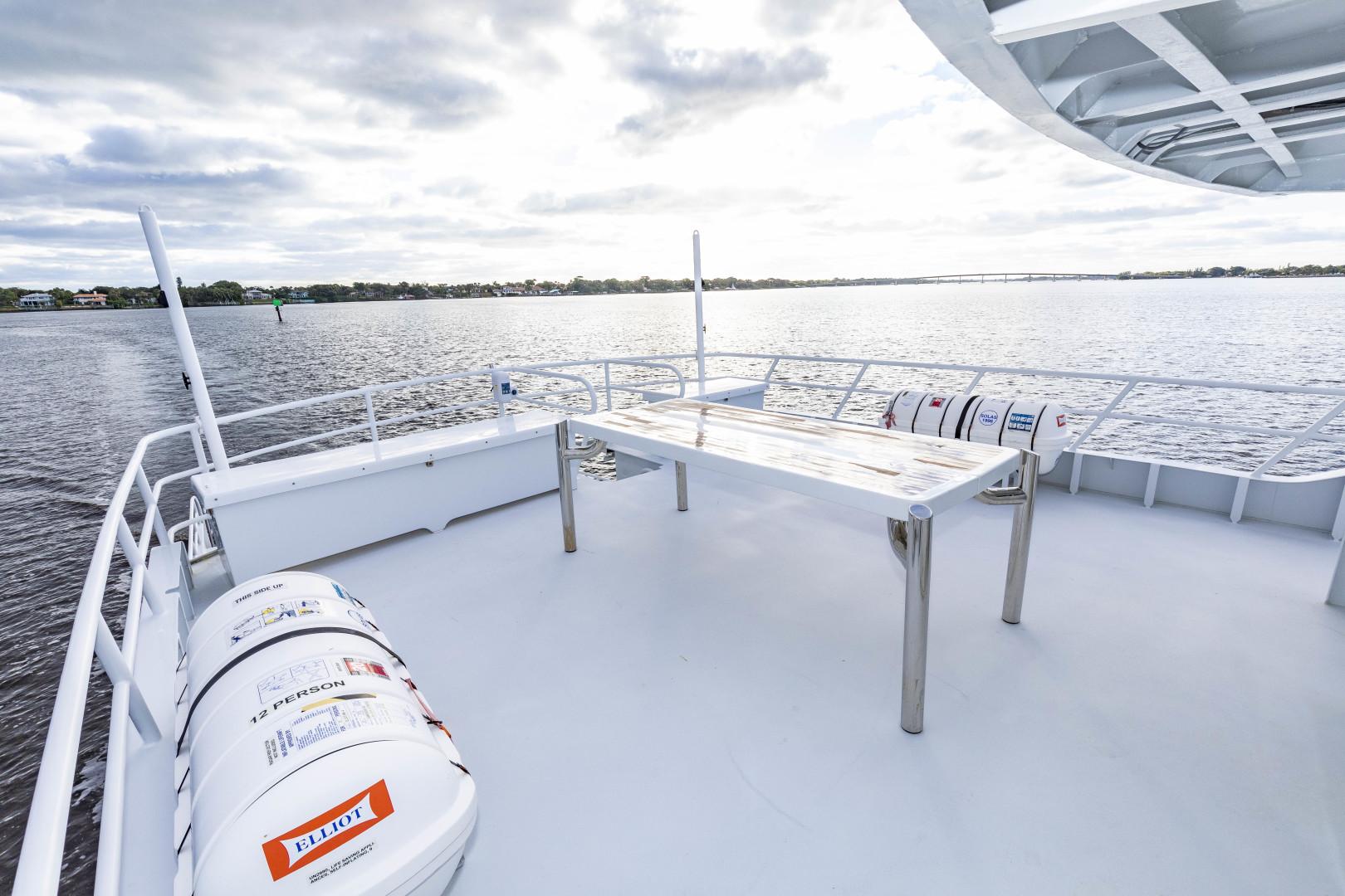 GlassTech-Expedition Yacht 2018-Reset Stuart-Florida-United States-Aft Deck-1568549 | Thumbnail
