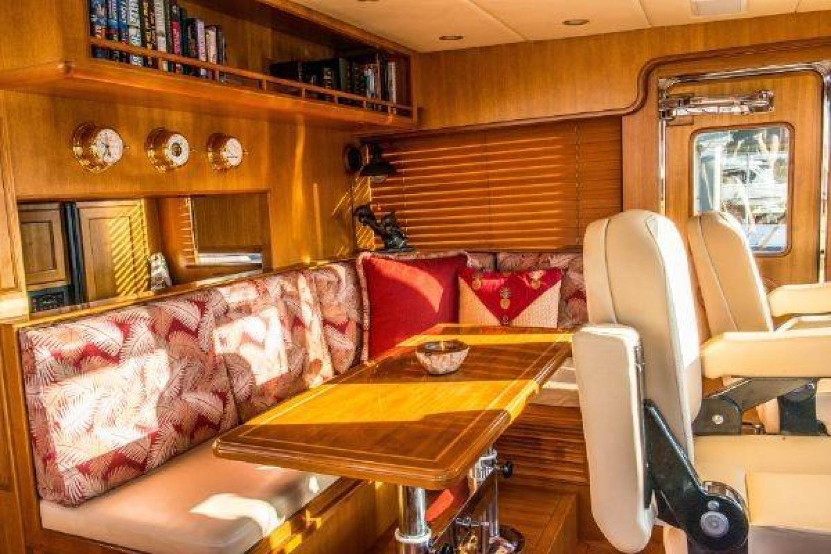Offshore 2009-LESTIQUE Sarasota-Florida-United States-Pilothouse Table/Convertible Berth-1558748 | Thumbnail
