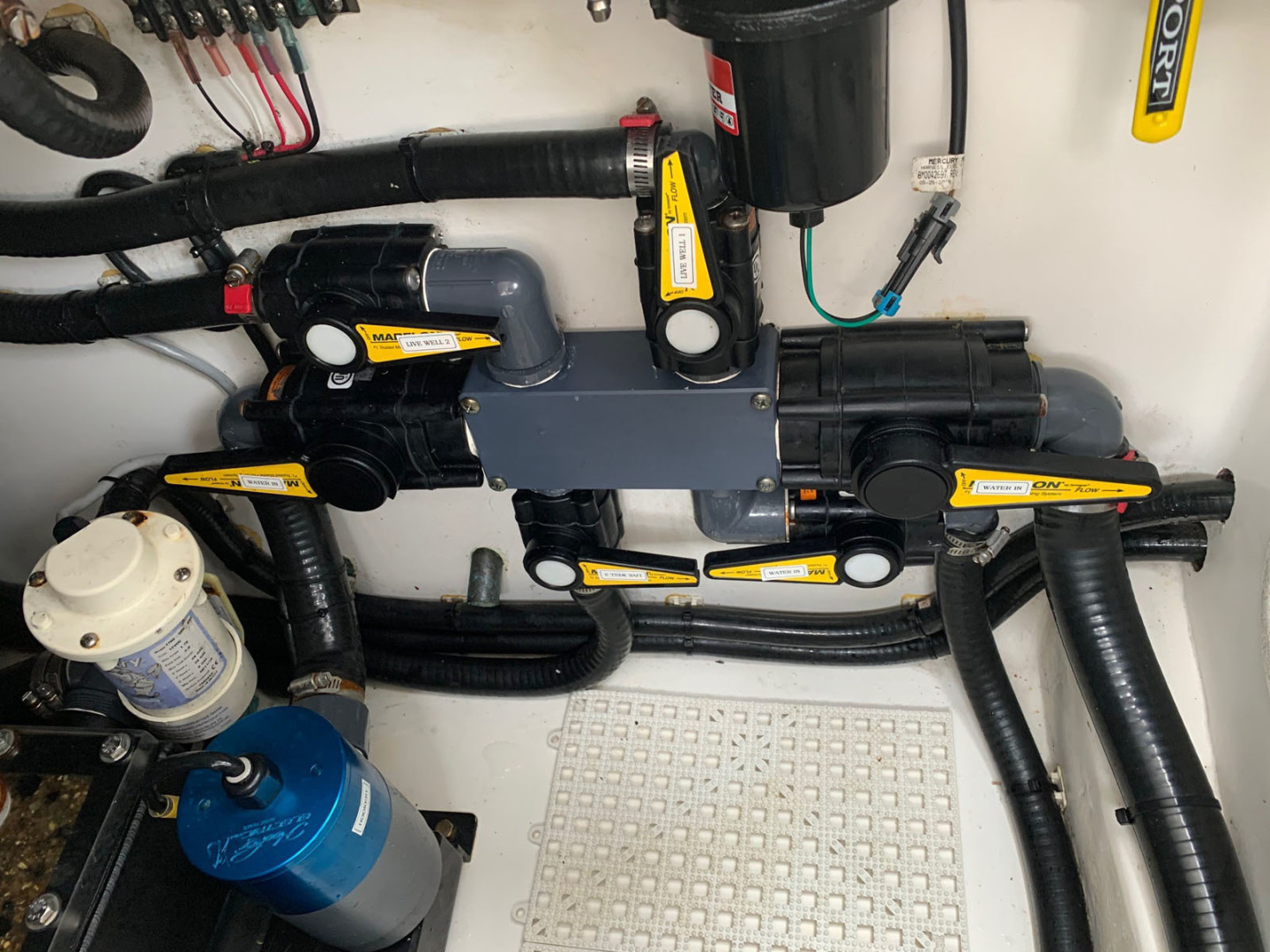 Contender-39 Step Hull w/SeaKeeper 2019-T/T Double Barrel Name Reserved Boca Raton-Florida-United States-Hooker Livewell Manifold System-1558958   Thumbnail