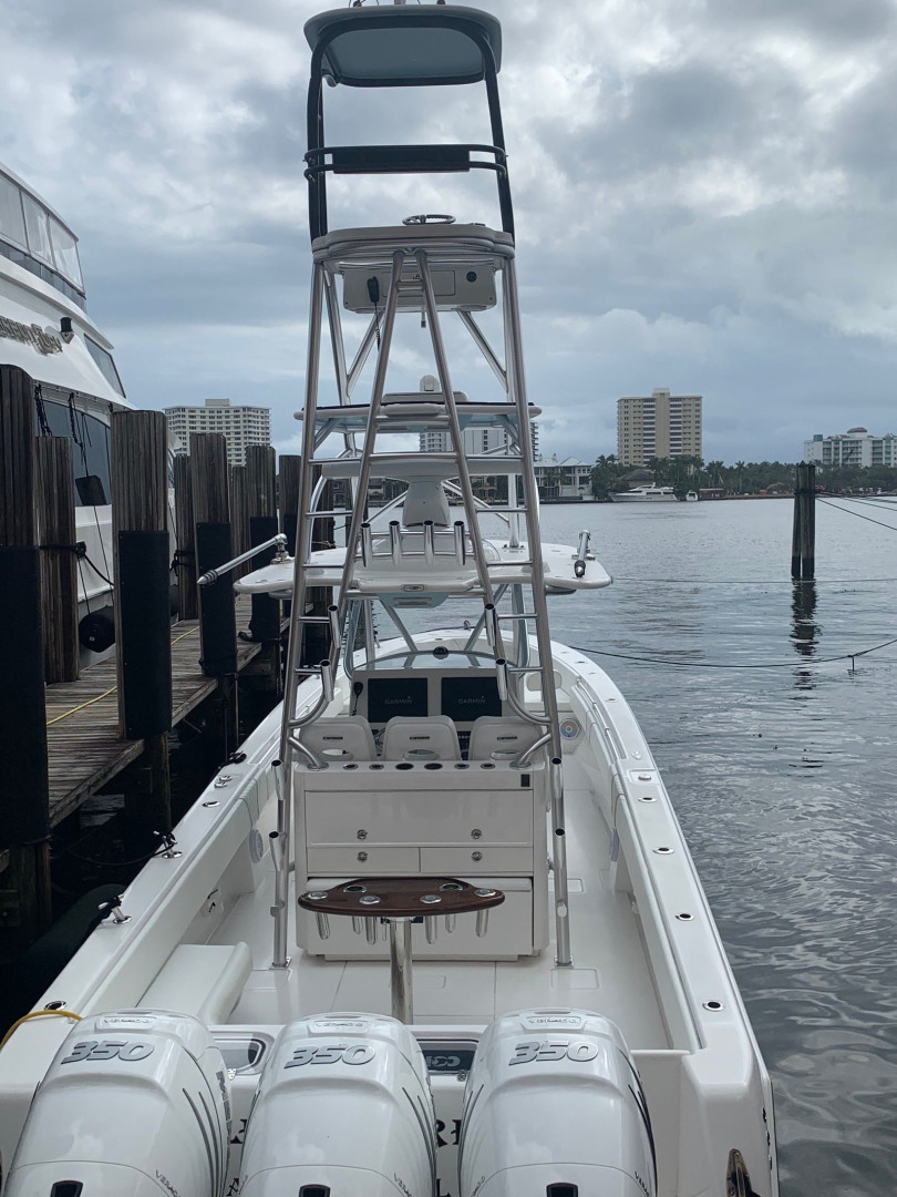 Contender-39 Step Hull w/SeaKeeper 2019-T/T Double Barrel Name Reserved Boca Raton-Florida-United States-Tower Aft Profile-1558939   Thumbnail