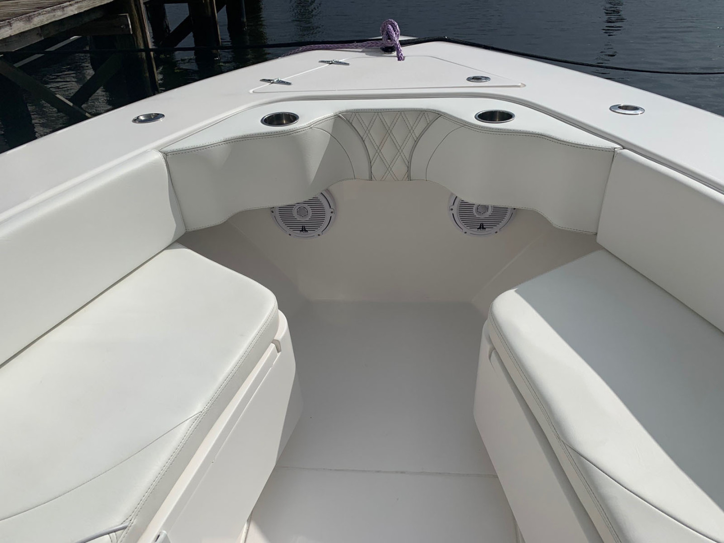 Contender-39 Step Hull w/SeaKeeper 2019-T/T Double Barrel Name Reserved Boca Raton-Florida-United States-Bow Seats-1558942   Thumbnail