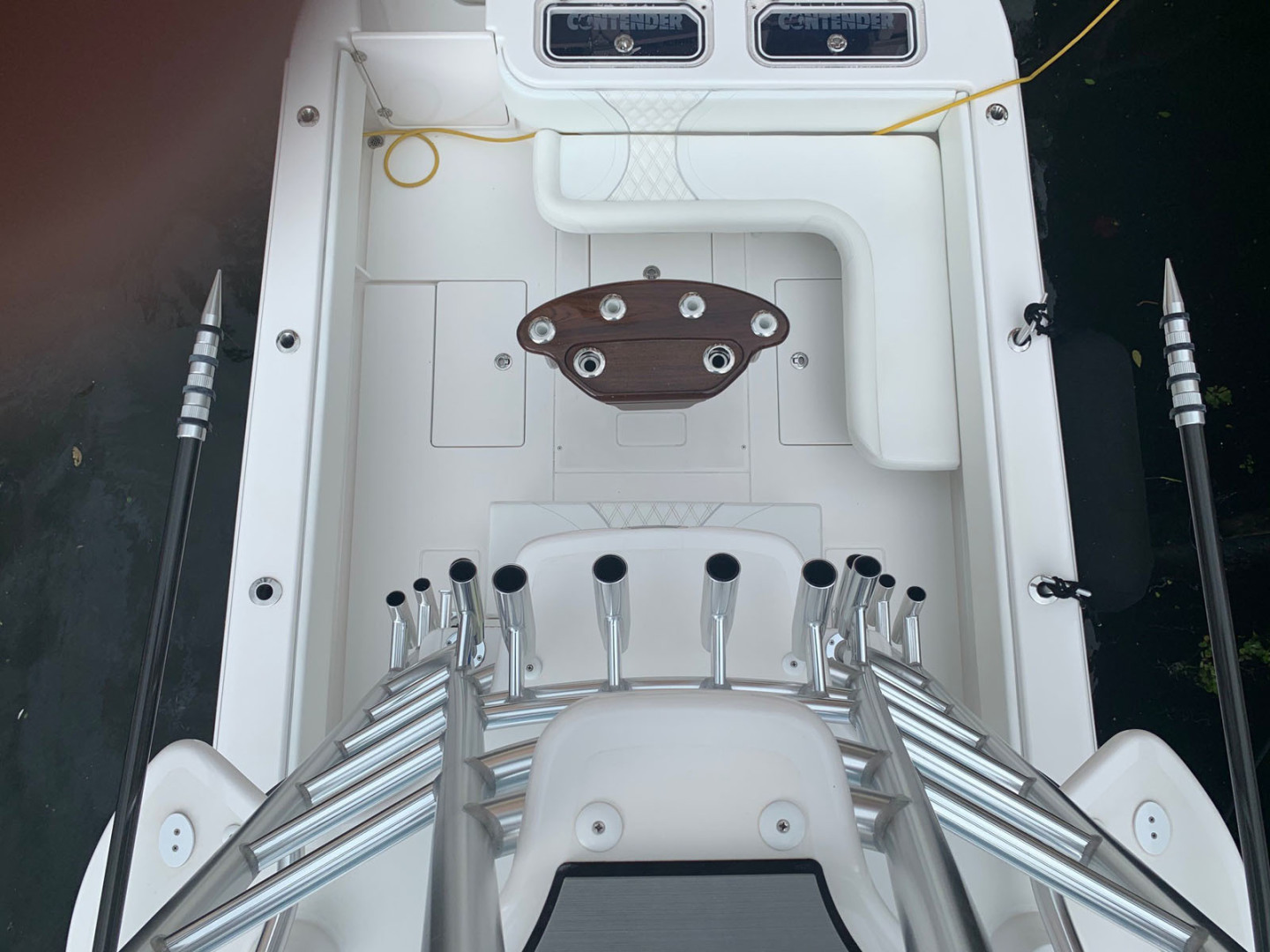 Contender-39 Step Hull w/SeaKeeper 2019-T/T Double Barrel Name Reserved Boca Raton-Florida-United States-Cockpit-1558944   Thumbnail