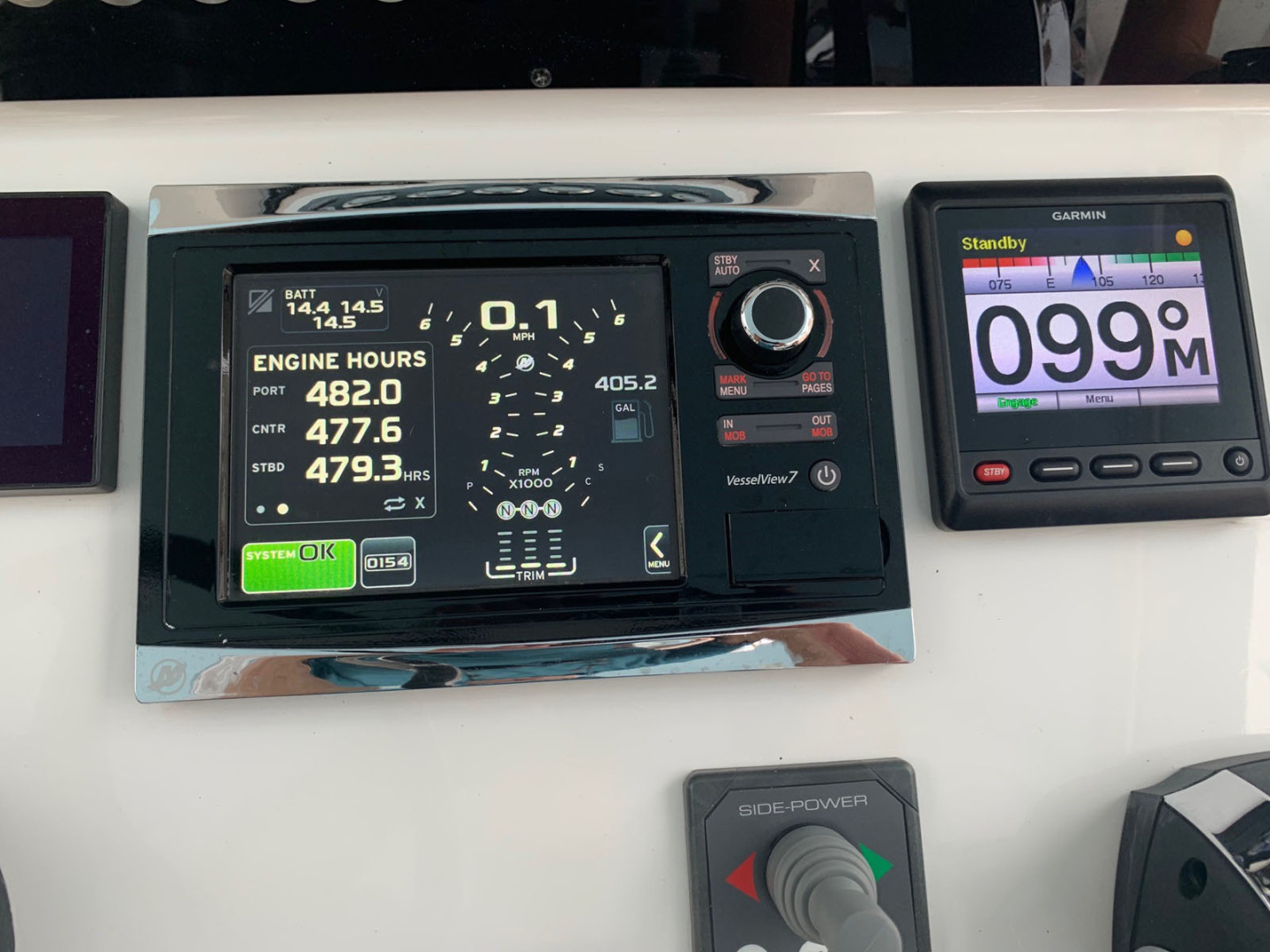 Contender-39 Step Hull w/SeaKeeper 2019-T/T Double Barrel Name Reserved Boca Raton-Florida-United States-Mercury Engine Monitor-1558952   Thumbnail