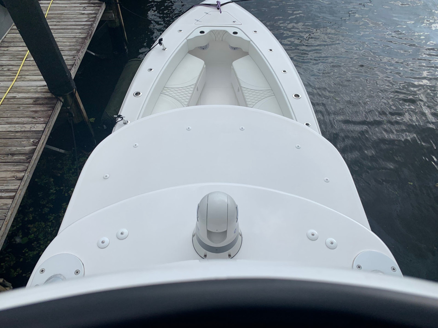 Contender-39 Step Hull w/SeaKeeper 2019-T/T Double Barrel Name Reserved Boca Raton-Florida-United States-Bow Seating-1558941   Thumbnail
