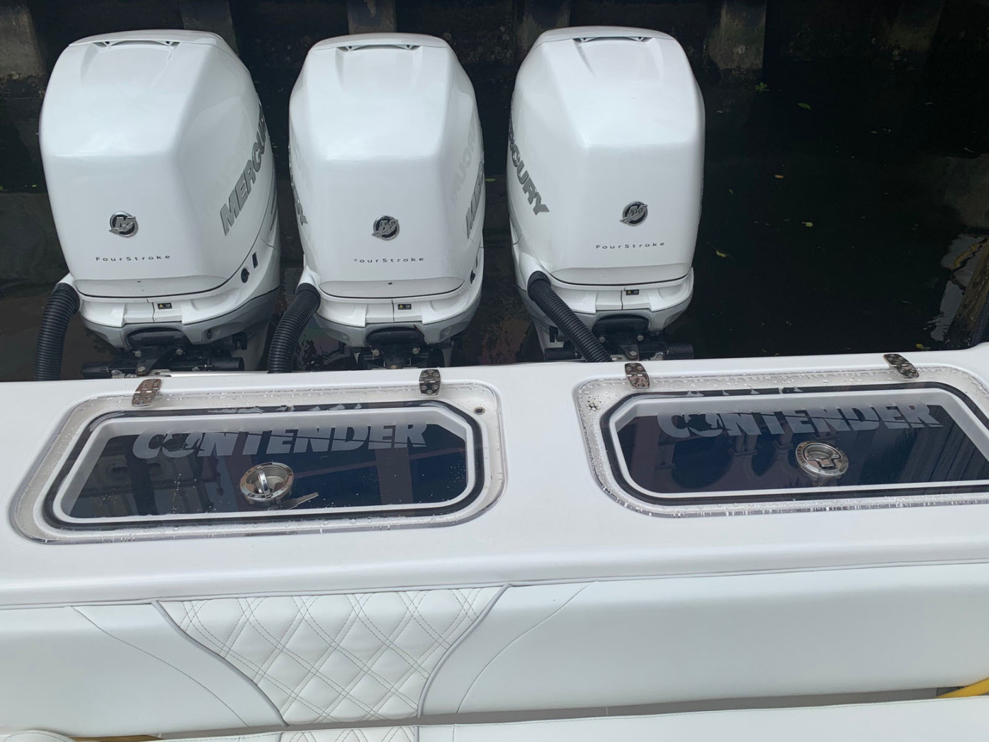 Contender-39 Step Hull w/SeaKeeper 2019-T/T Double Barrel Name Reserved Boca Raton-Florida-United States-Transom-1558960   Thumbnail