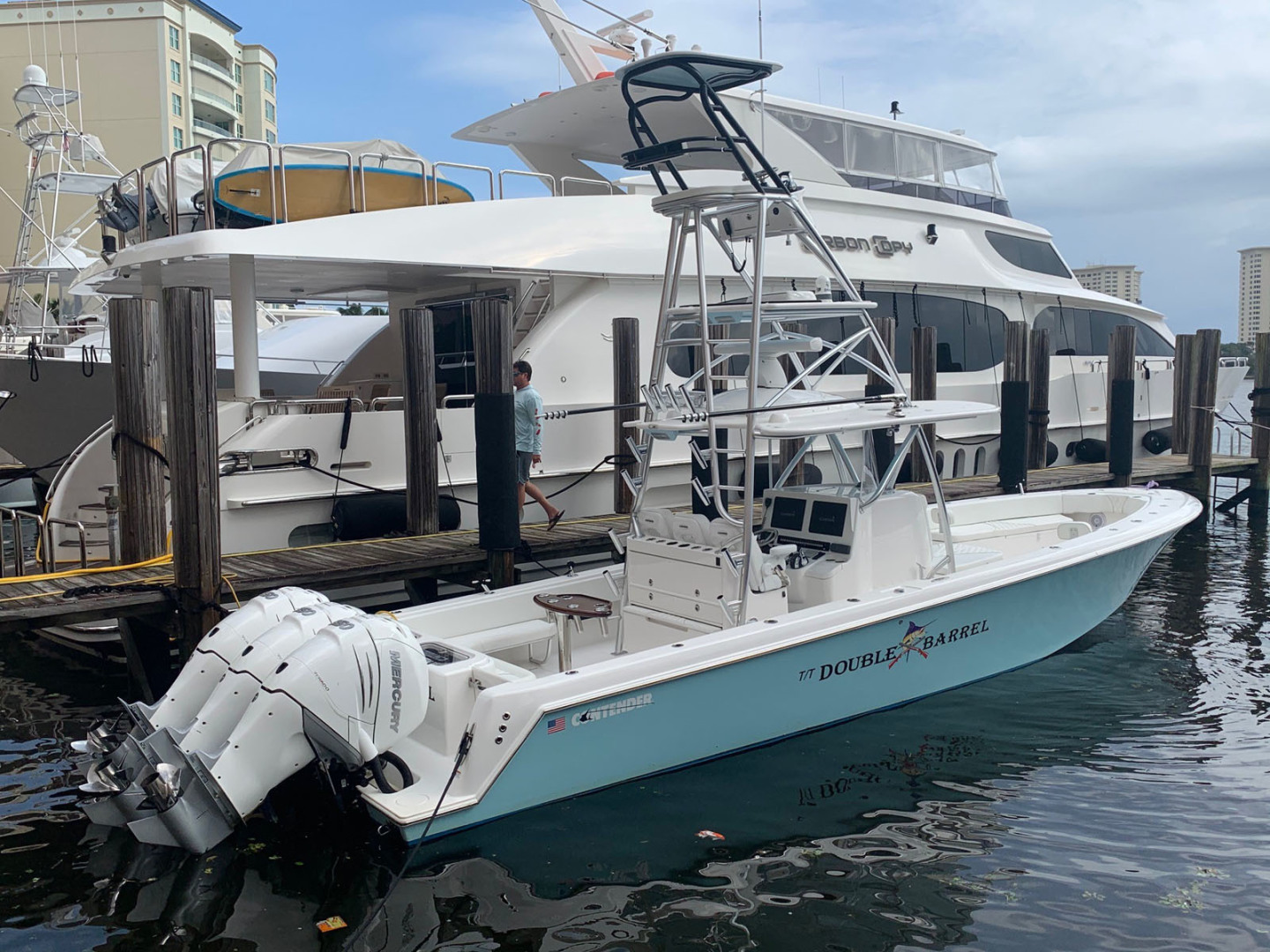 Contender-39 Step Hull w/SeaKeeper 2019-T/T Double Barrel Name Reserved Boca Raton-Florida-United States-Additional Profile-1558935   Thumbnail