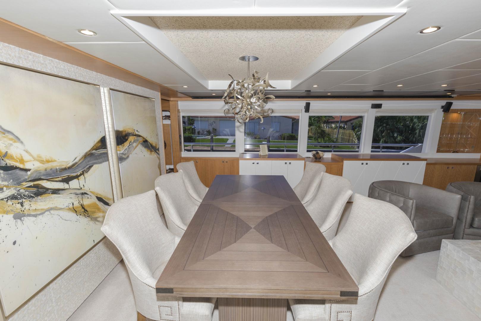 Johnson-Flybridge w/Hydraulic Platform 2022-JOHNSON 93 OPEN FB Taiwan-Salon dining table-1559026 | Thumbnail
