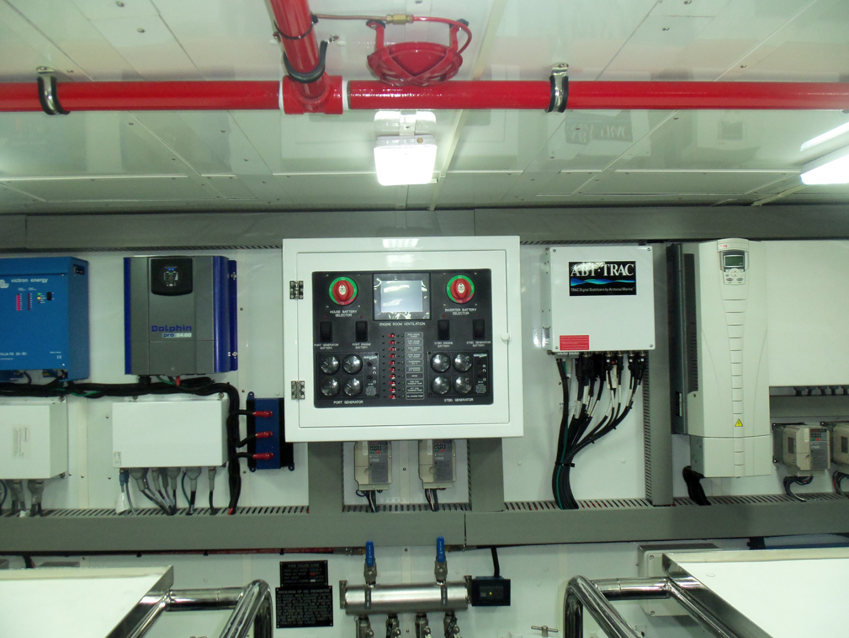 Johnson-Flybridge w/Hydraulic Platform 2022-JOHNSON 93 OPEN FB Taiwan-Engine room forward-1559103 | Thumbnail