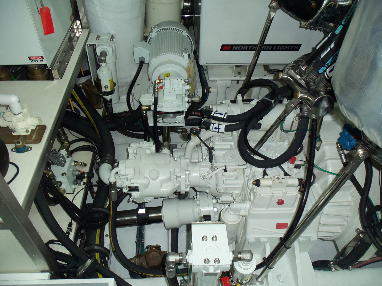 Johnson-Flybridge w/Hydraulic Platform 2022-JOHNSON 93 OPEN FB Taiwan-Port engine aft-1559106 | Thumbnail