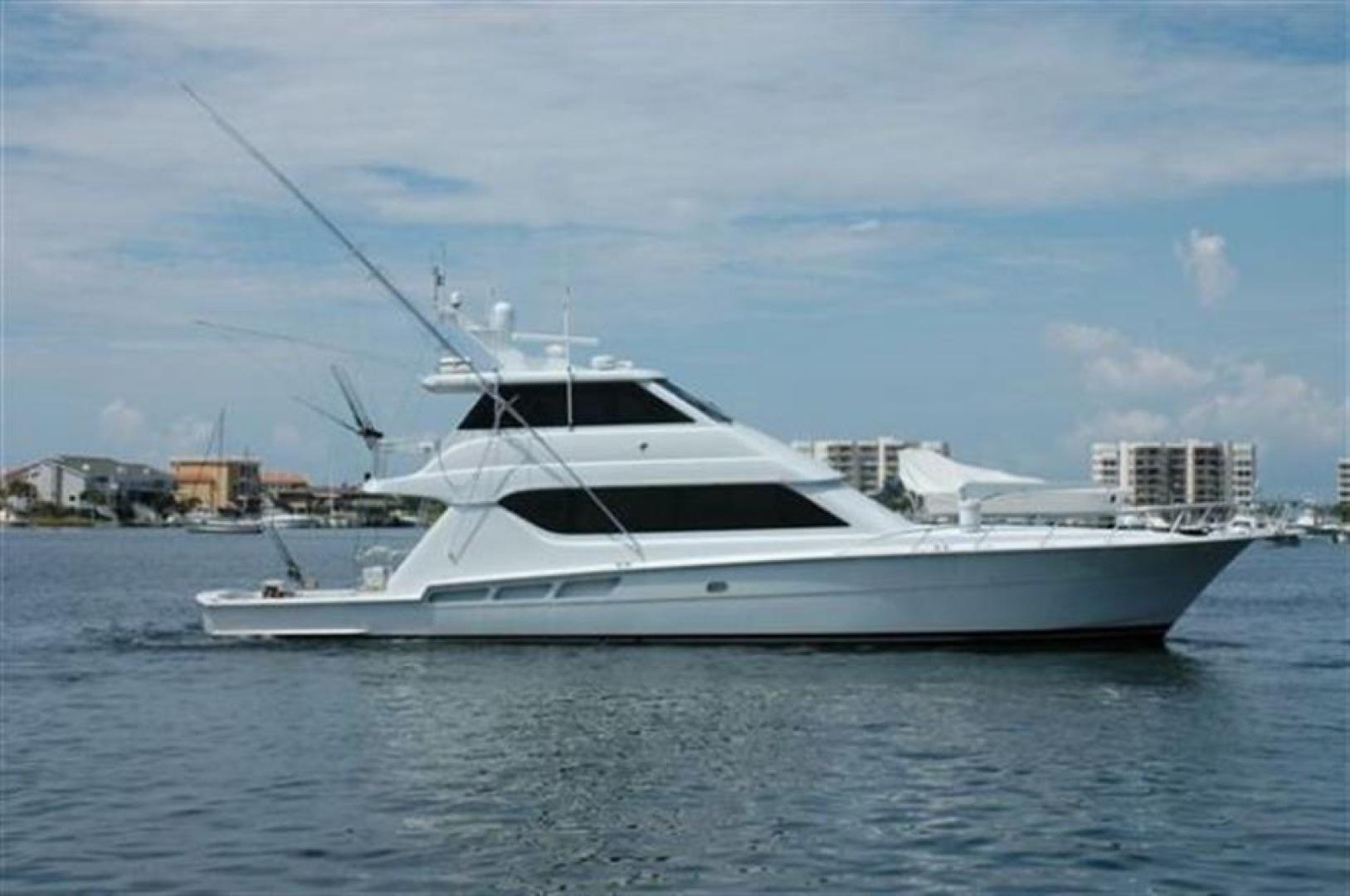 Hatteras-Enclosed Bridge 2000-Hook Em Aventura-Florida-United States-1559232 | Thumbnail