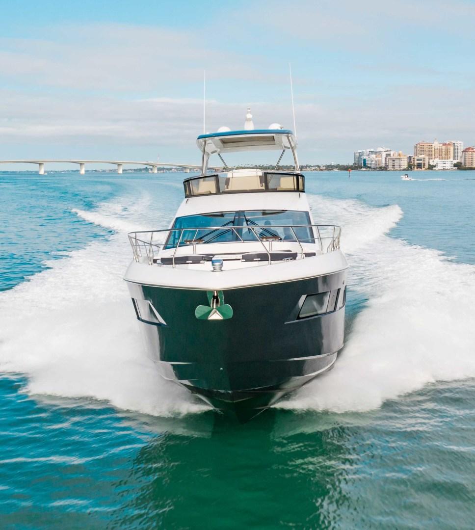 Cruisers-60 Cantius 2018-Sea Rhythm III Anna Maria-Florida-United States-2018 Cruisers 60 Cantius FB  Sea Rhythm III  Bow Profile-1583328 | Thumbnail