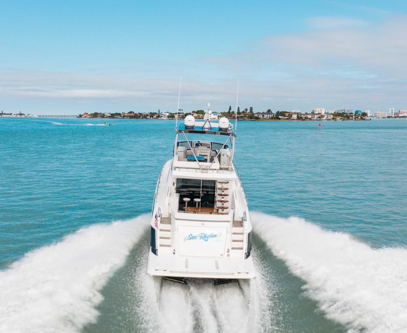 Cruisers-60 Cantius 2018-Sea Rhythm III Anna Maria-Florida-United States-2018 Cruisers 60 Cantius FB  Sea Rhythm III  Stern Profile-1583326 | Thumbnail