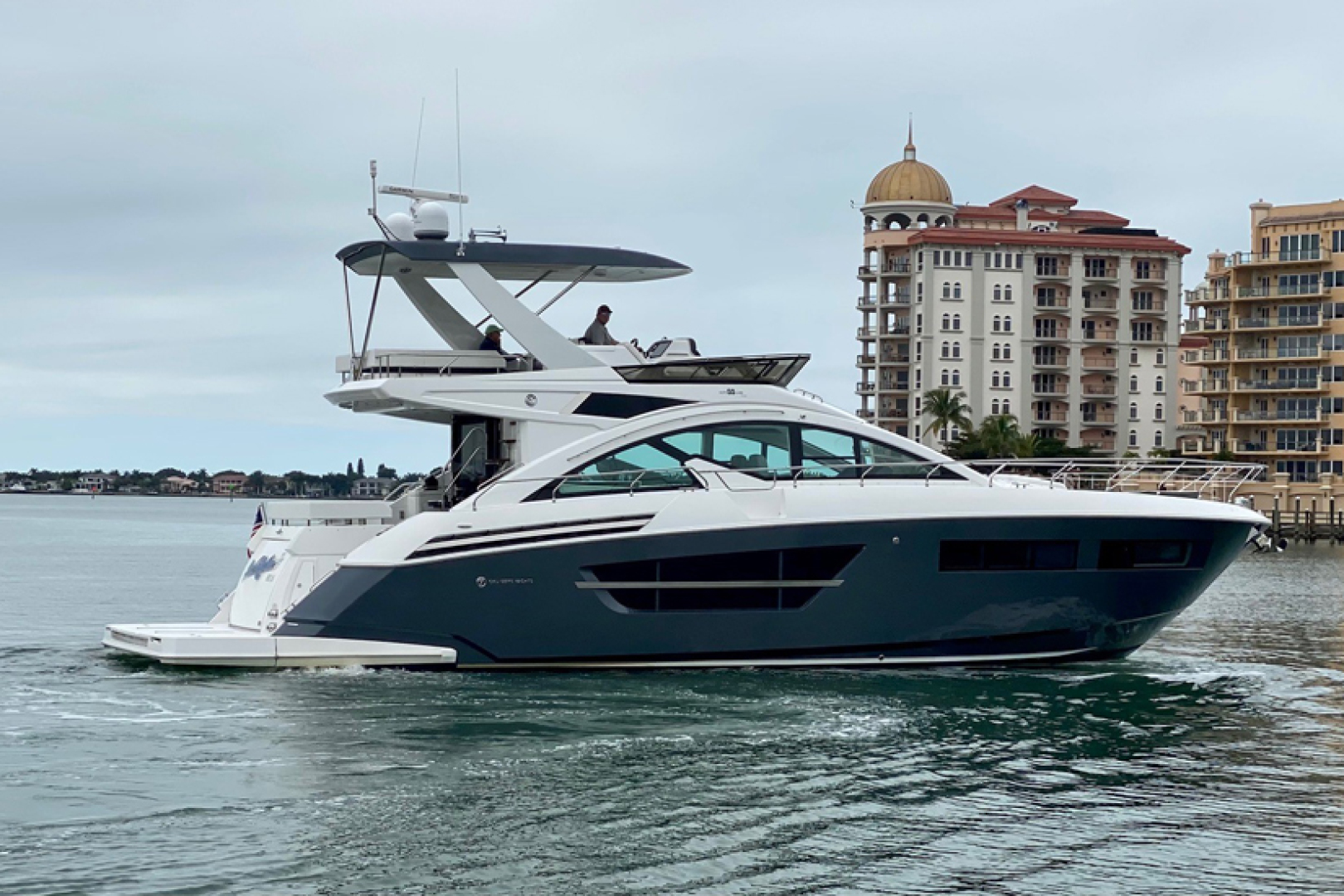 Cruisers-60 Cantius 2018-Sea Rhythm III Anna Maria-Florida-United States-2018 Cruisers 60 Cantius FB  Sea Rhythm III  Starboard Profile-1577925 | Thumbnail