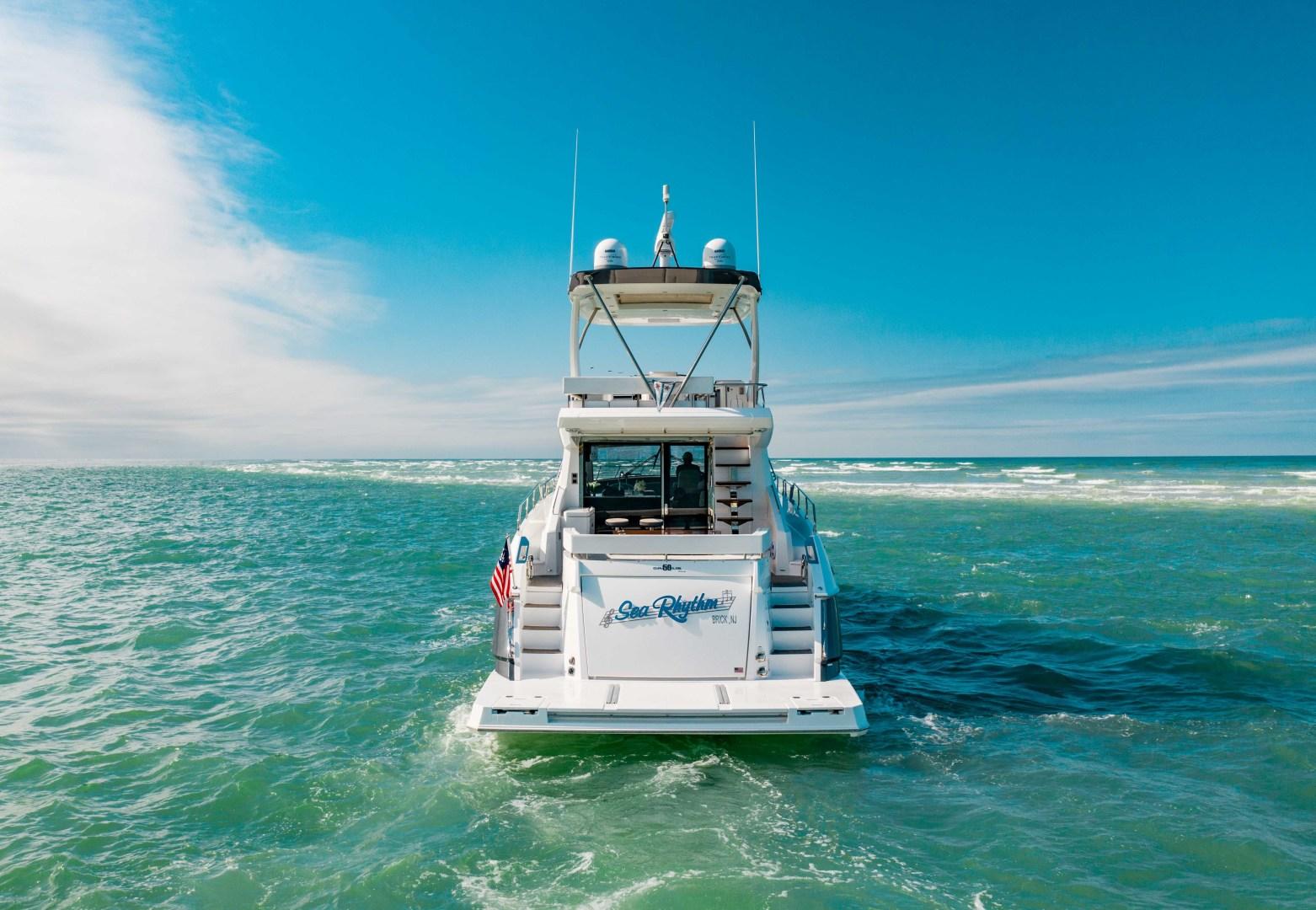 Cruisers-60 Cantius 2018-Sea Rhythm III Anna Maria-Florida-United States-2018 Cruisers 60 Cantius FB  Sea Rhythm III  Stern Profile-1583324 | Thumbnail