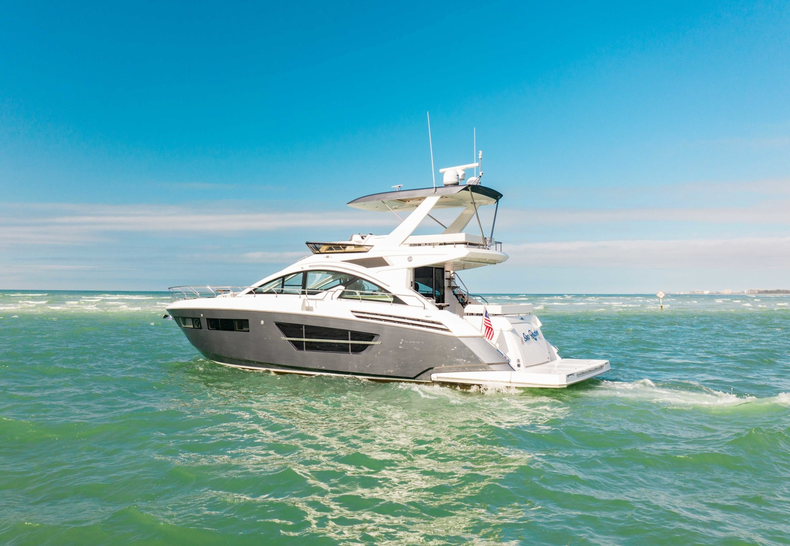 Cruisers-60 Cantius 2018-Sea Rhythm III Anna Maria-Florida-United States-2018 Cruisers 60 Cantius FB  Sea Rhythm III  Port Profile-1583318 | Thumbnail