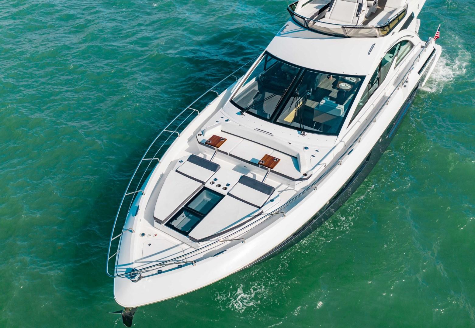Cruisers-60 Cantius 2018-Sea Rhythm III Anna Maria-Florida-United States-2018 Cruisers 60 Cantius FB  Sea Rhythm III  Bow Profile-1583321 | Thumbnail
