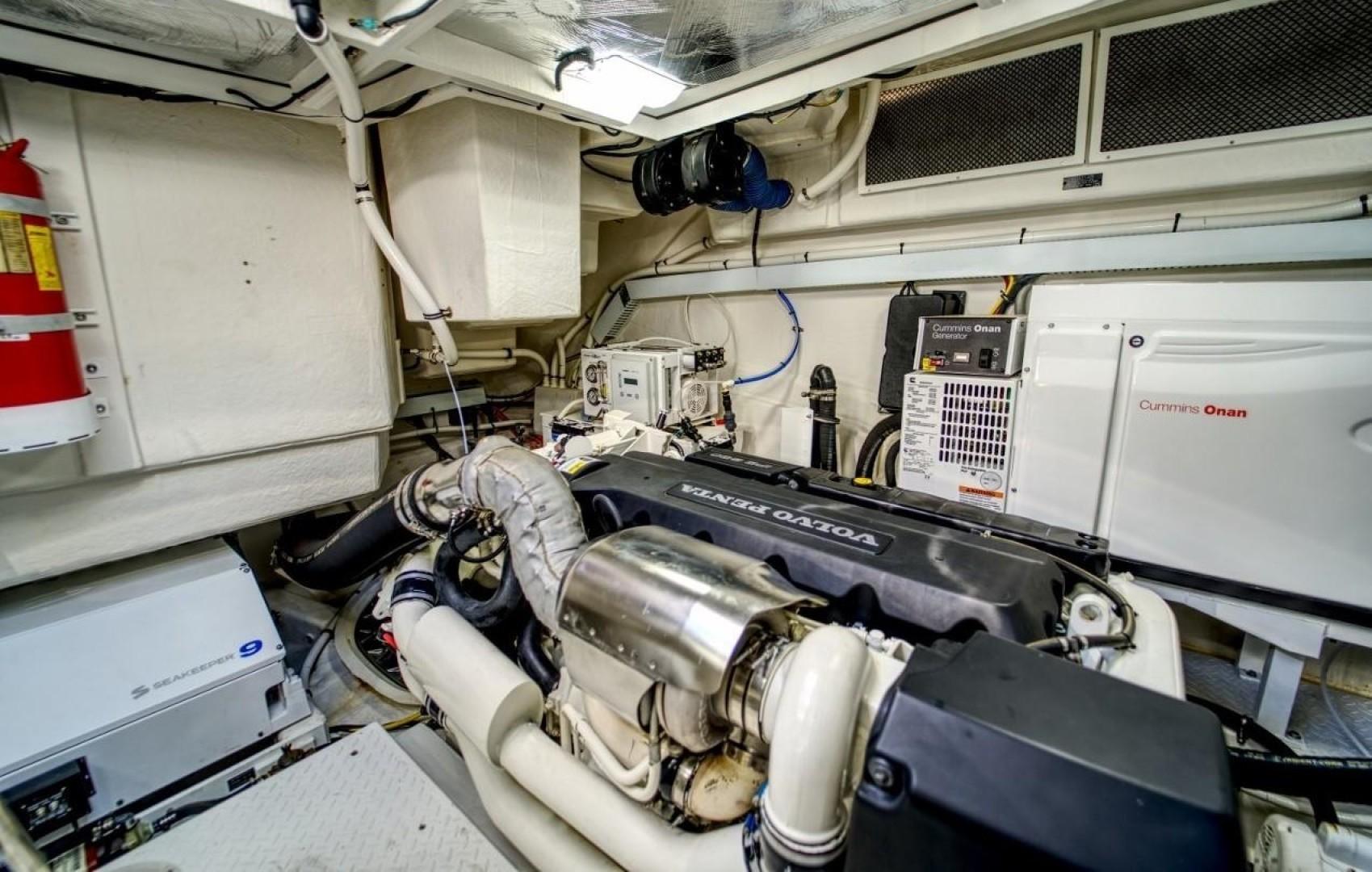 Cruisers-60 Cantius 2018-Sea Rhythm III Anna Maria-Florida-United States-2018 Cruisers 60 Cantius FB  Sea Rhythm III  Engine Room-1578778 | Thumbnail