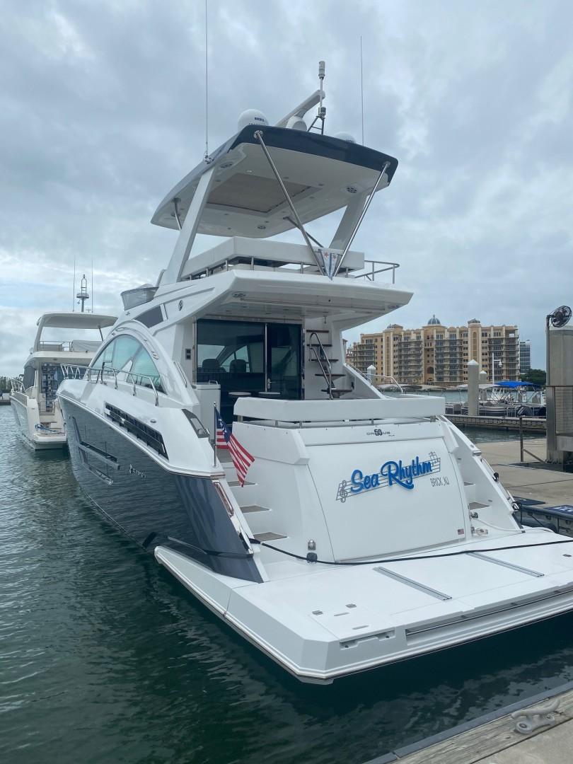 Cruisers-60 Cantius 2018-Sea Rhythm III Anna Maria-Florida-United States-2018 Cruisers 60 Cantius FB  Sea Rhythm III  Stern Profile-1578313 | Thumbnail