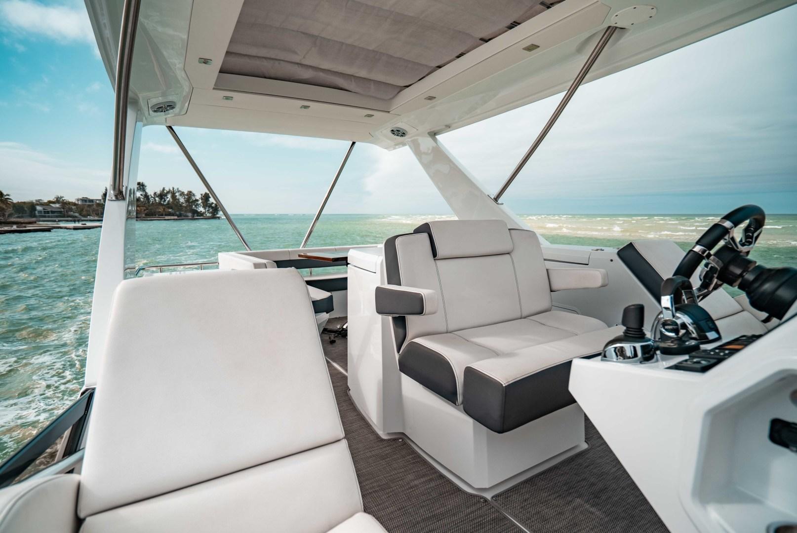 Cruisers-60 Cantius 2018-Sea Rhythm III Anna Maria-Florida-United States-2018 Cruisers 60 Cantius FB  Sea Rhythm III  Flybridge Helm Seating-1583303 | Thumbnail