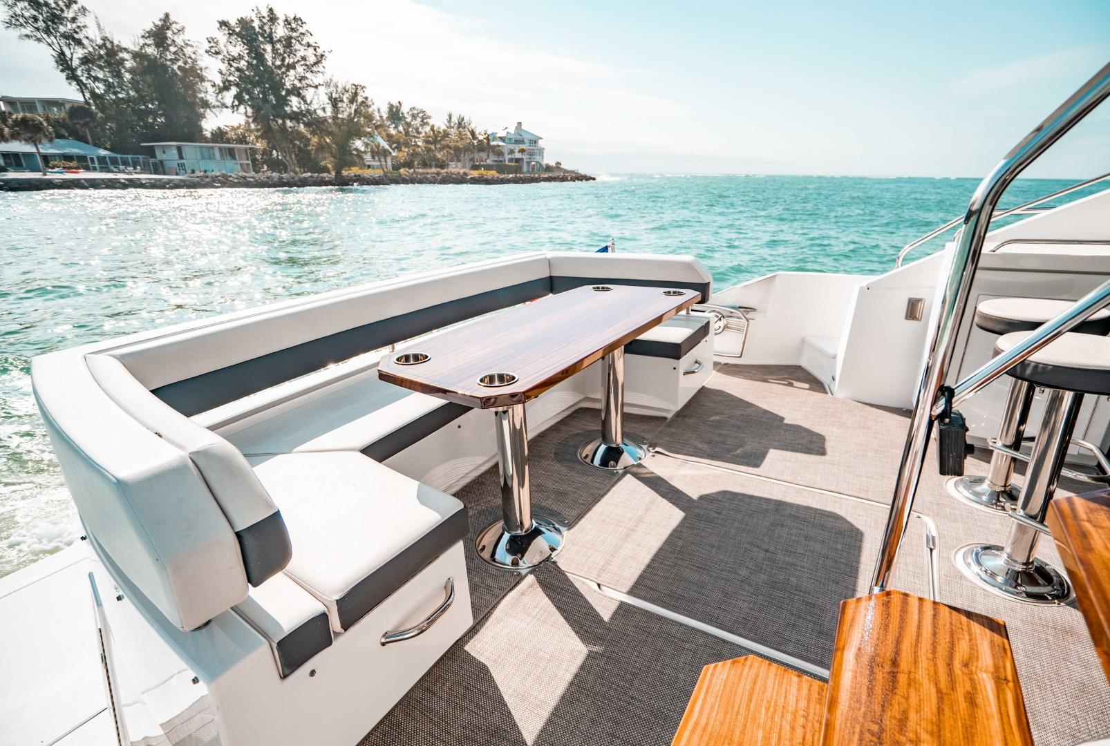 Cruisers-60 Cantius 2018-Sea Rhythm III Anna Maria-Florida-United States-2018 Cruisers 60 Cantius FB  Sea Rhythm III  Cockpit Dining-1583312 | Thumbnail