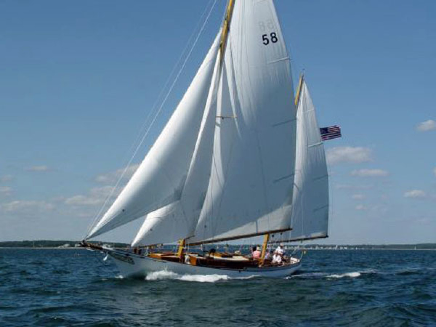 Herreshoff-Bounty 58 2004-CATRIONA Mattapoisett-Massachusetts-United States-Sailing-1560610 | Thumbnail