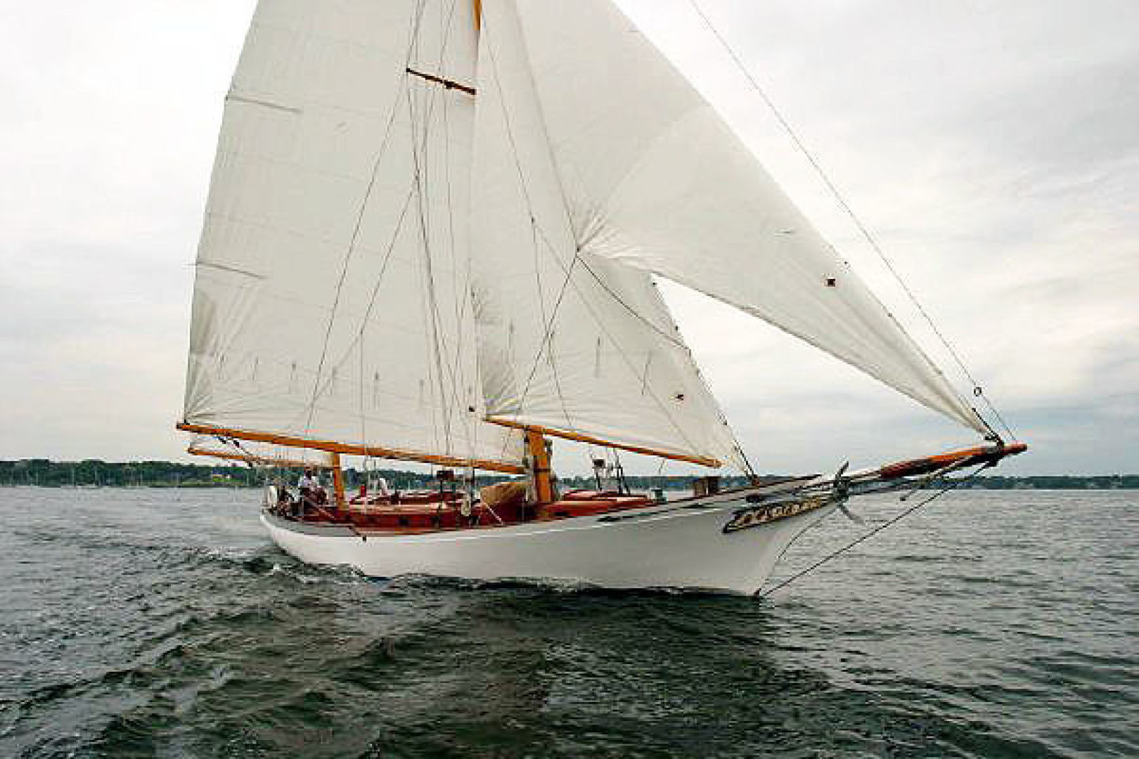 Herreshoff-Bounty 58 2004-CATRIONA Mattapoisett-Massachusetts-United States-Under Sail-1560600 | Thumbnail