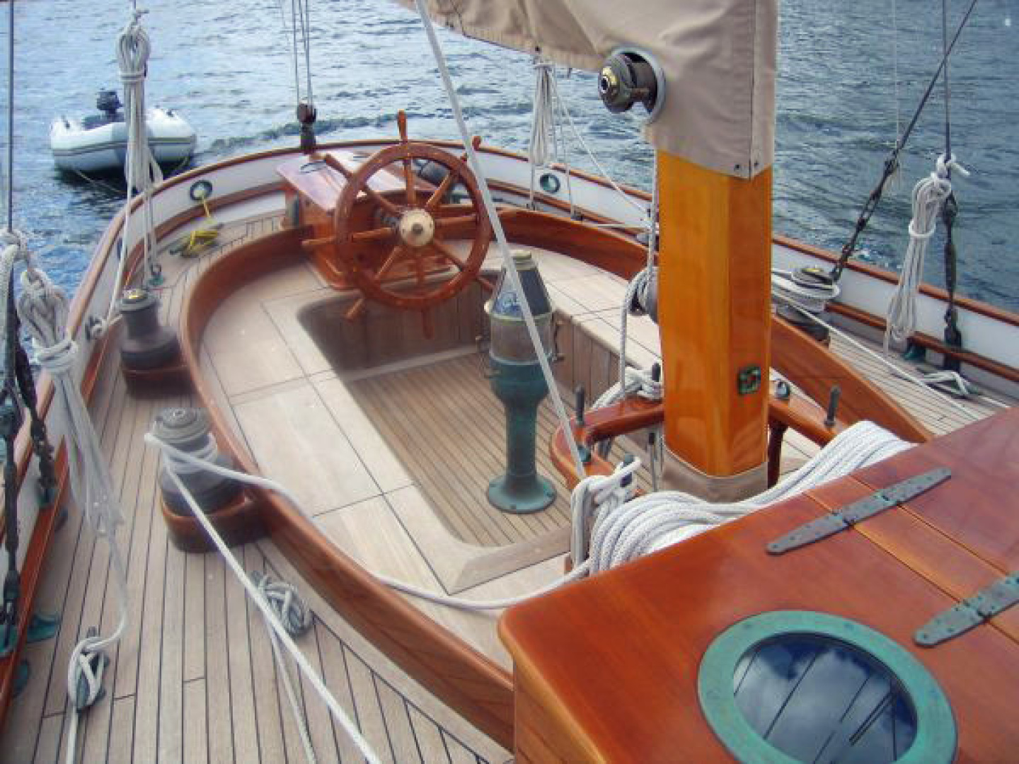 Herreshoff-Bounty 58 2004-CATRIONA Mattapoisett-Massachusetts-United States-Cockpit-1560597 | Thumbnail