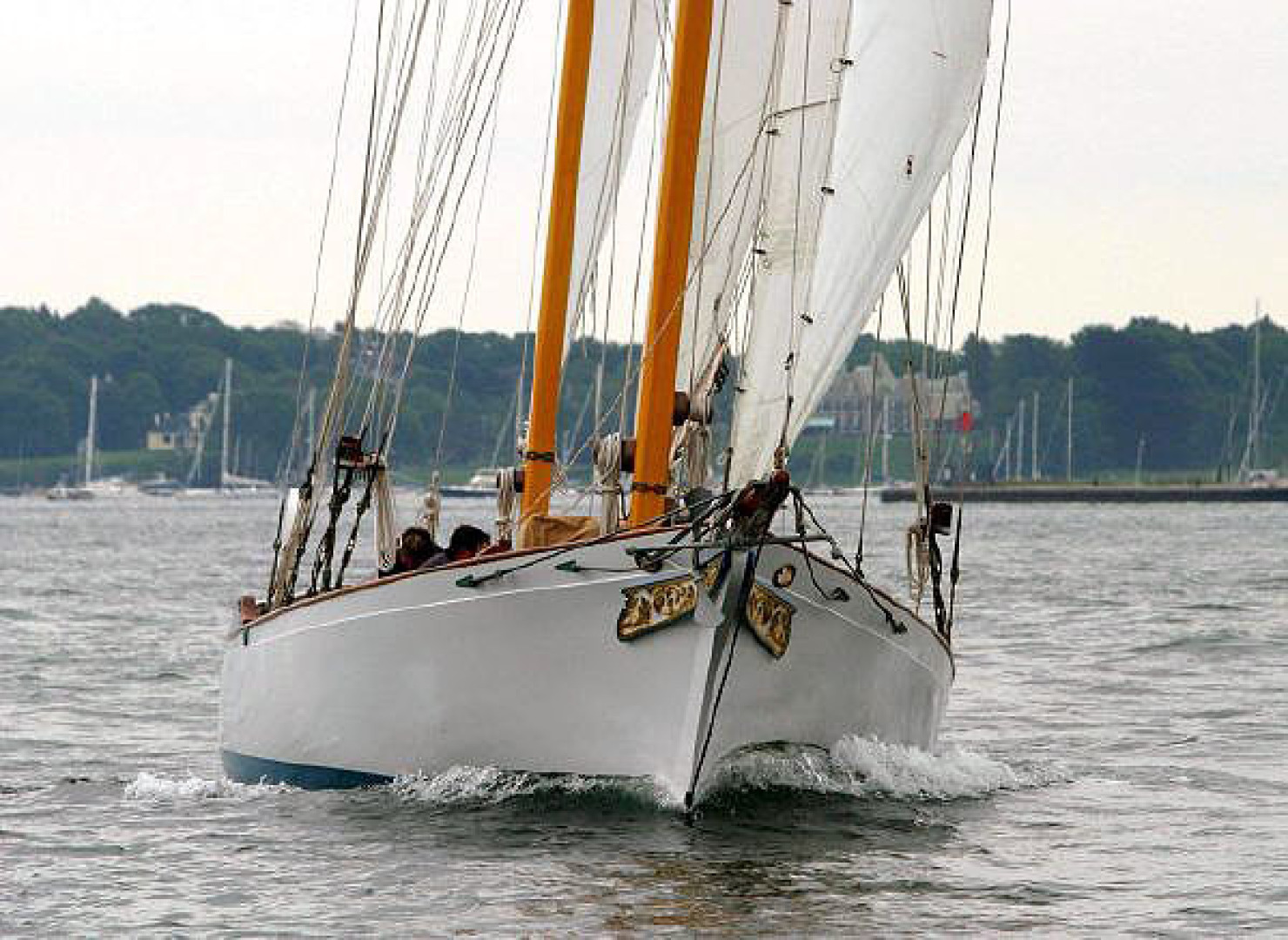 Herreshoff-Bounty 58 2004-CATRIONA Mattapoisett-Massachusetts-United States-Bow, Under Sail-1560596 | Thumbnail