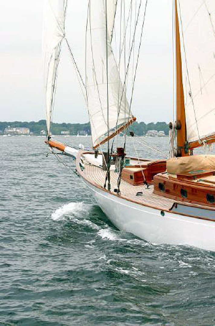 Herreshoff-Bounty 58 2004-CATRIONA Mattapoisett-Massachusetts-United States-Port Bow-1560609 | Thumbnail