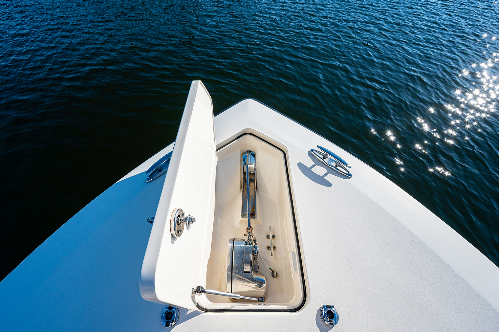 Scout-300 LXF 2017-A Salt Weapon Palm Beach Gardens-Florida-United States-Anchor Locker with Windlass-1571058 | Thumbnail
