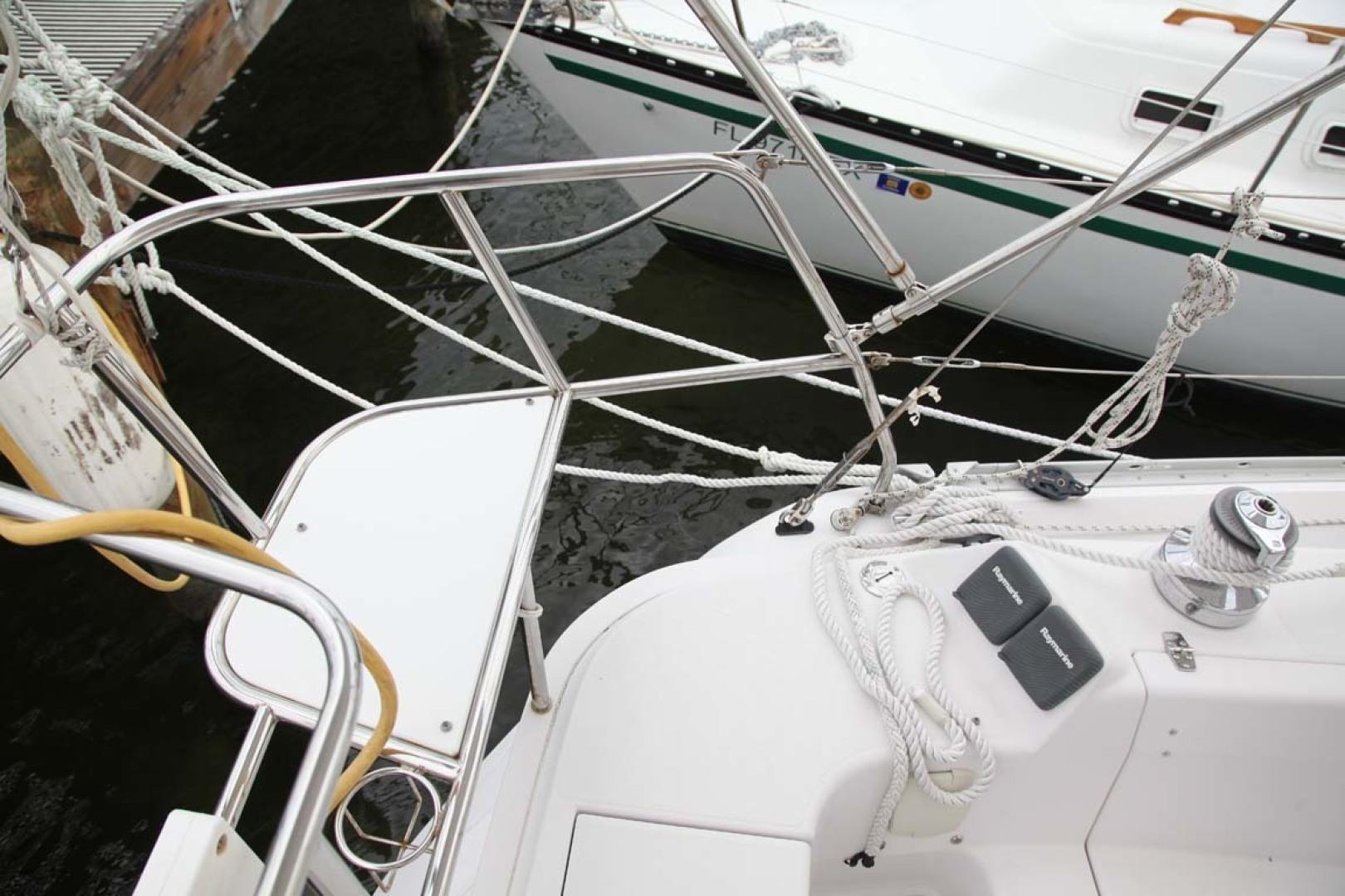 Catalina-355 2014 -Key Largo-Florida-United States-Aft Deck Seat-1574511 | Thumbnail