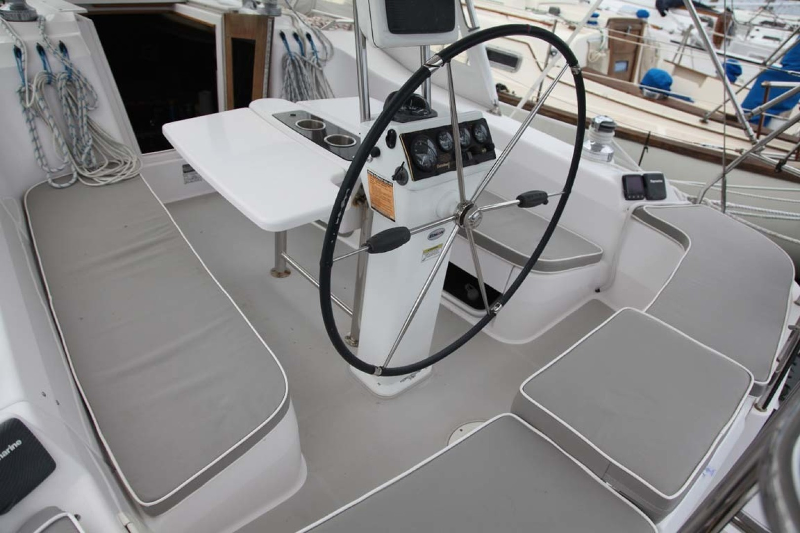 Catalina-355 2014 -Key Largo-Florida-United States-T-Shaped Cockpit with Raised Helm Seats Port and Starboard-1574496 | Thumbnail