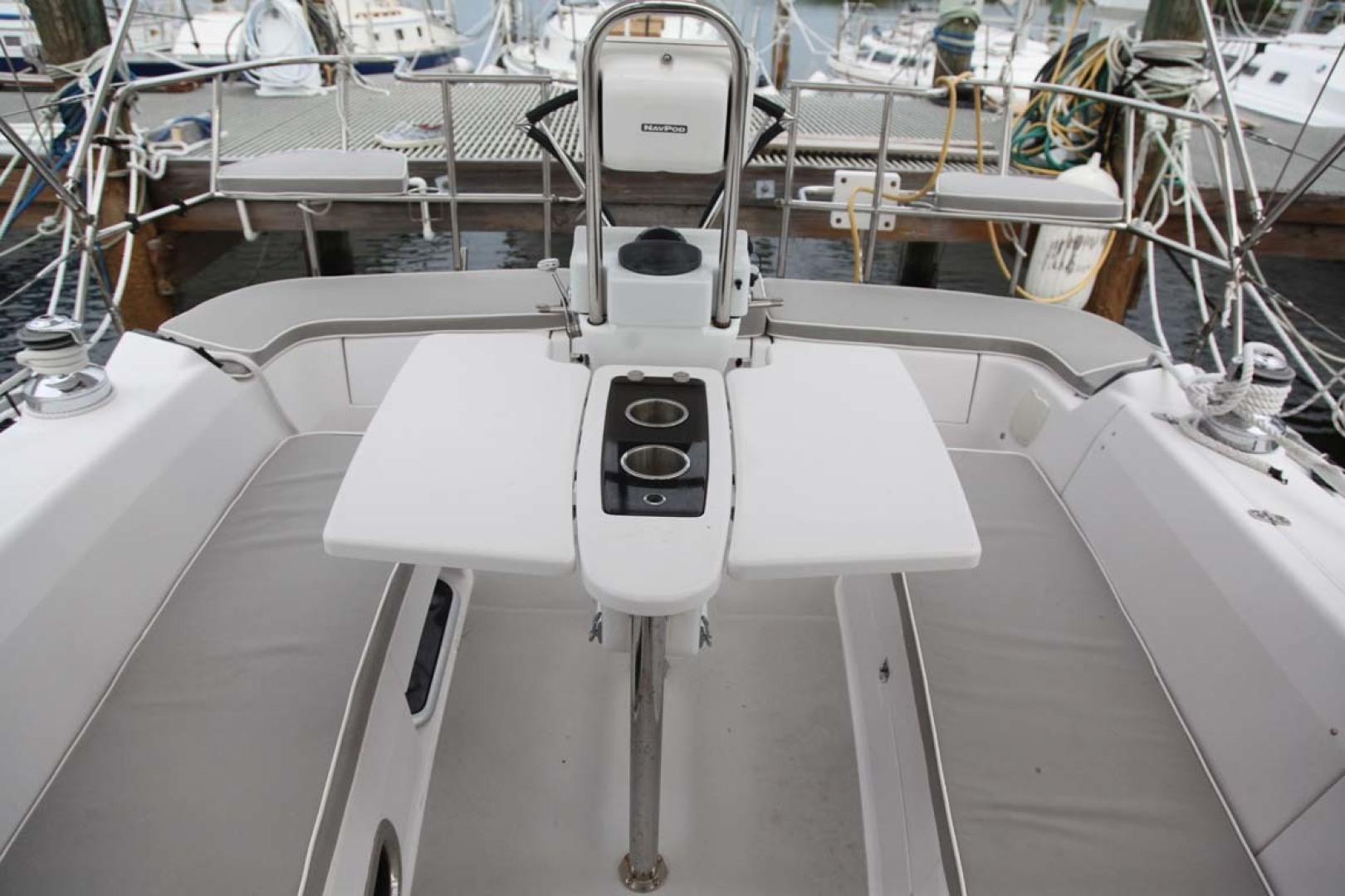 Catalina-355 2014 -Key Largo-Florida-United States-Folding Table with Storage and Drink Holders-1574494 | Thumbnail