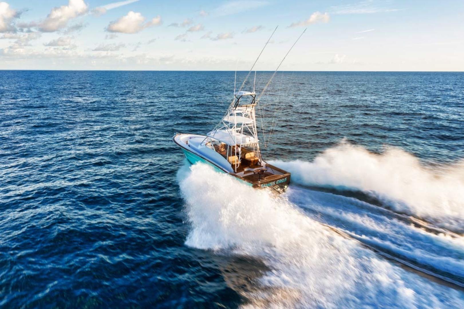 Winter Custom Yachts-46 Walkaround 2019-Family Circus Stuart-Florida-United States-Starboard Aft View-1563792 | Thumbnail
