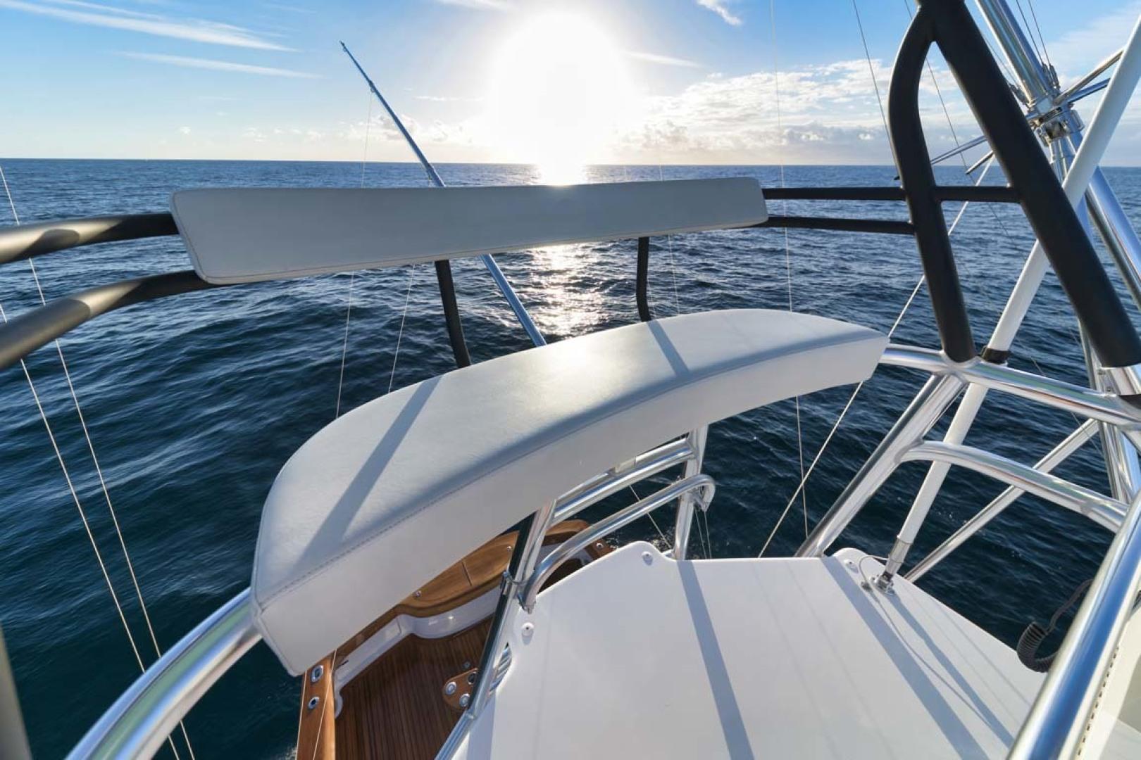 Winter Custom Yachts-46 Walkaround 2019-Family Circus Stuart-Florida-United States-Bench Seat-1563777 | Thumbnail