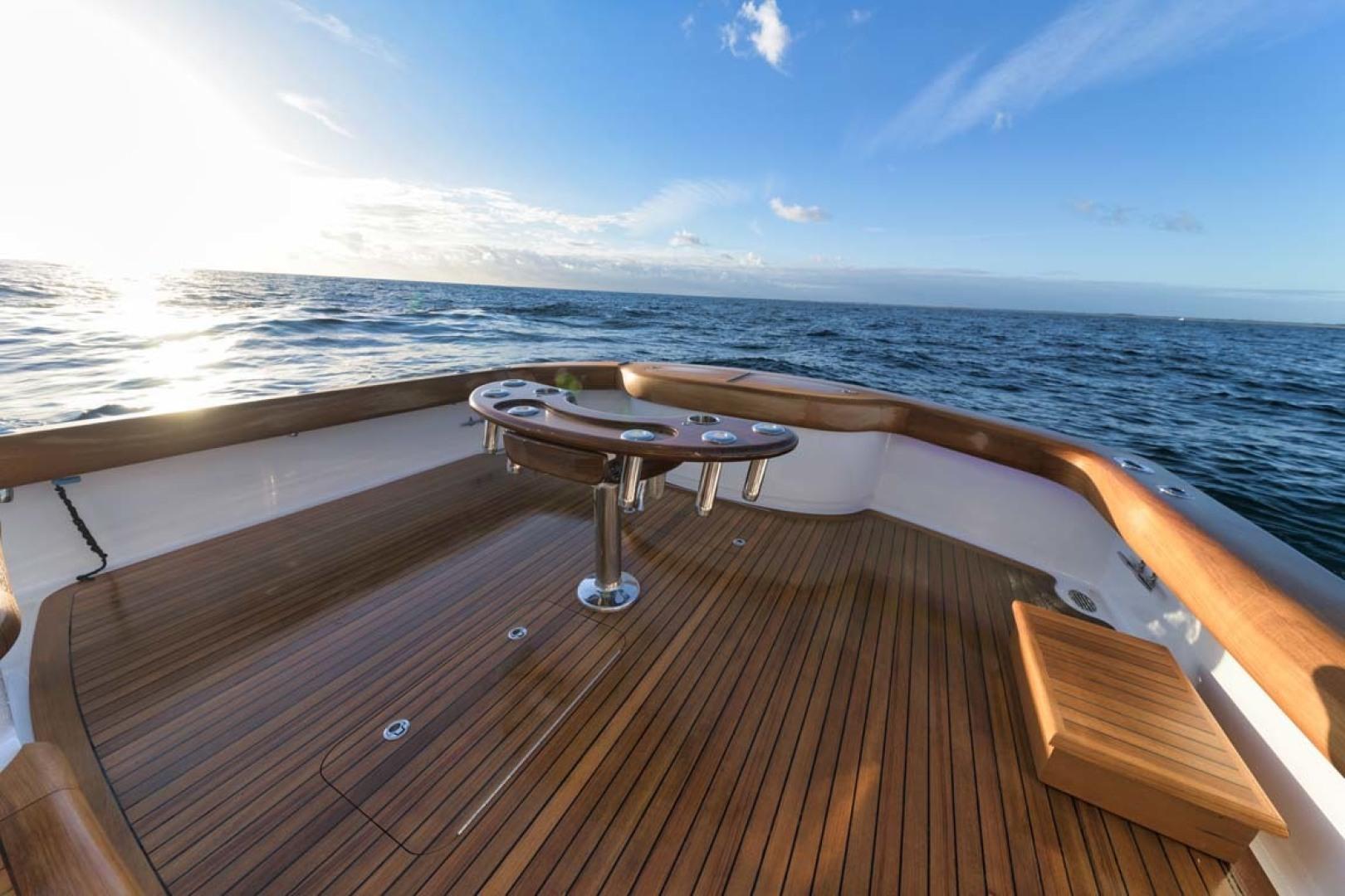 Winter Custom Yachts-46 Walkaround 2019-Family Circus Stuart-Florida-United States-Teak Cockpit Sole-1563778 | Thumbnail