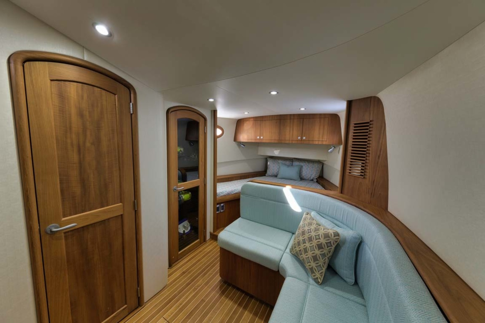 Winter Custom Yachts-46 Walkaround 2019-Family Circus Stuart-Florida-United States-Teak Accents-1563740 | Thumbnail