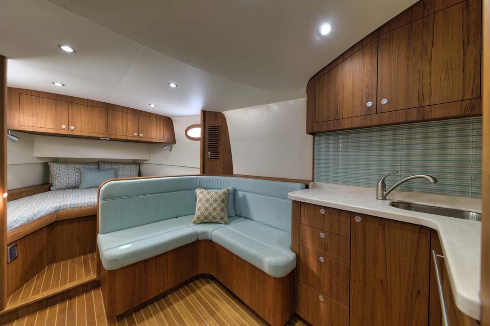 Winter Custom Yachts-46 Walkaround 2019-Family Circus Stuart-Florida-United States-Settee and Galley-1563749 | Thumbnail