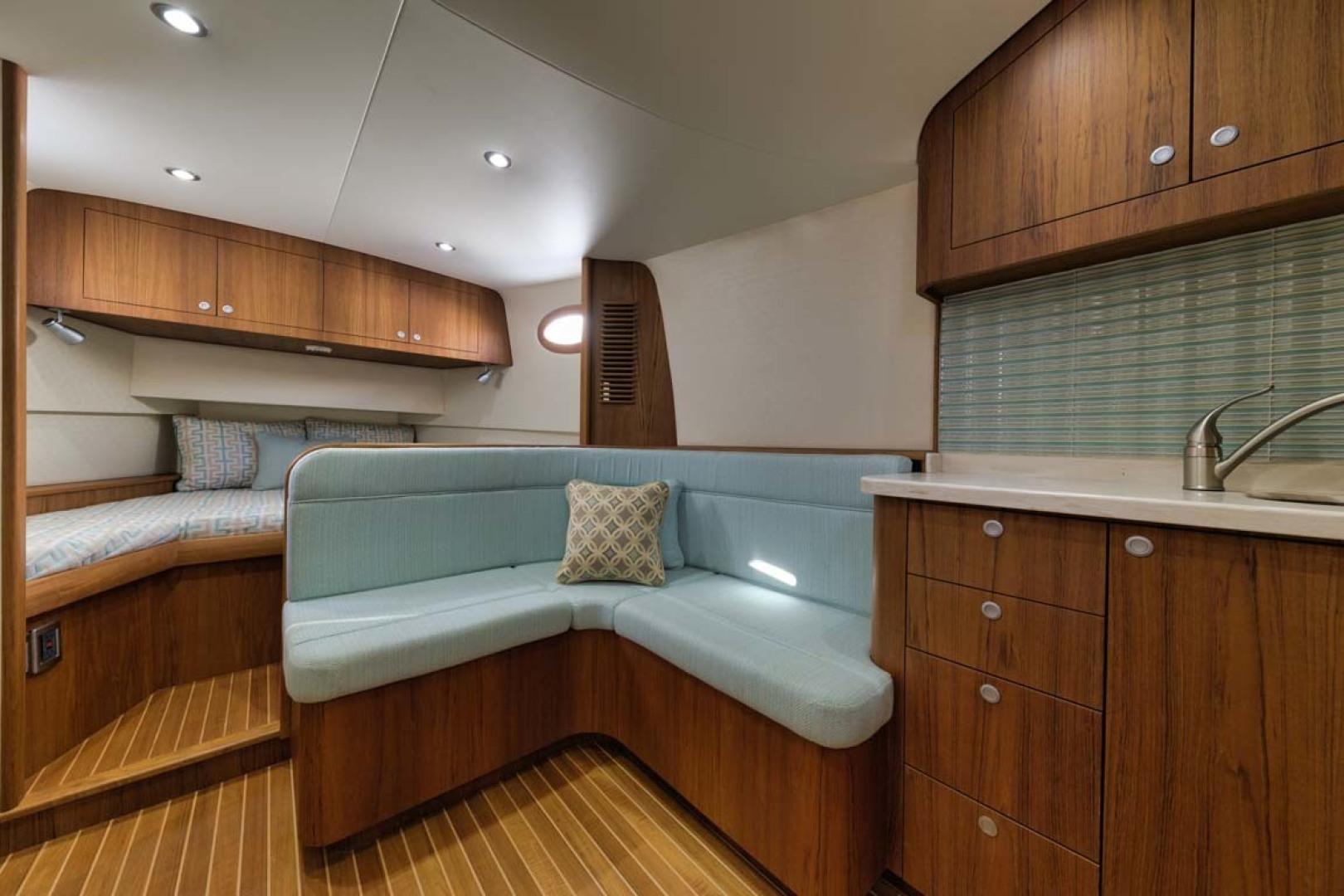 Winter Custom Yachts-46 Walkaround 2019-Family Circus Stuart-Florida-United States-U-Shaped Settee with Storage Below-1563747 | Thumbnail
