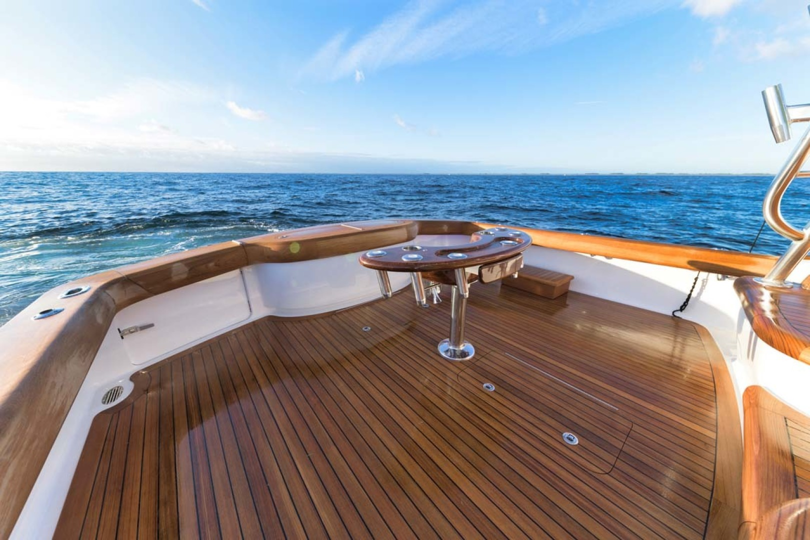 Winter Custom Yachts-46 Walkaround 2019-Family Circus Stuart-Florida-United States-Walk-Around Deck Layout with Single Level Design (No Steps or Obstacles)-1563780 | Thumbnail