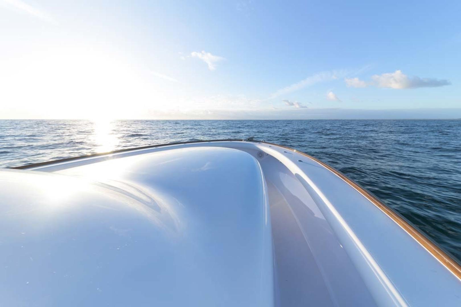 Winter Custom Yachts-46 Walkaround 2019-Family Circus Stuart-Florida-United States-Starboard Side Deck-1563732 | Thumbnail